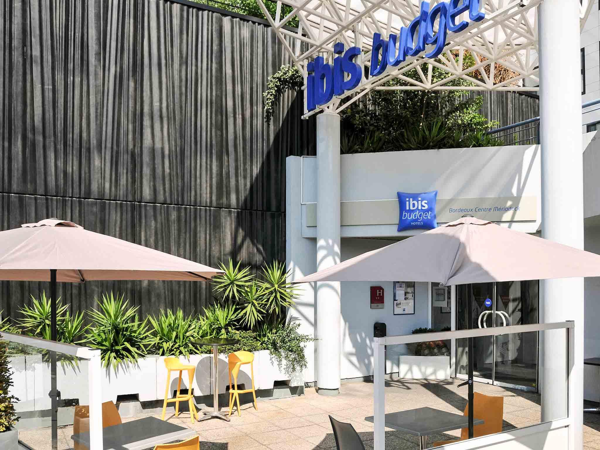 Отель — ibis budget Бордо Центр Мериадек