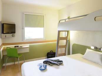 Rooms - ibis budget Bordeaux Centre Mériadeck