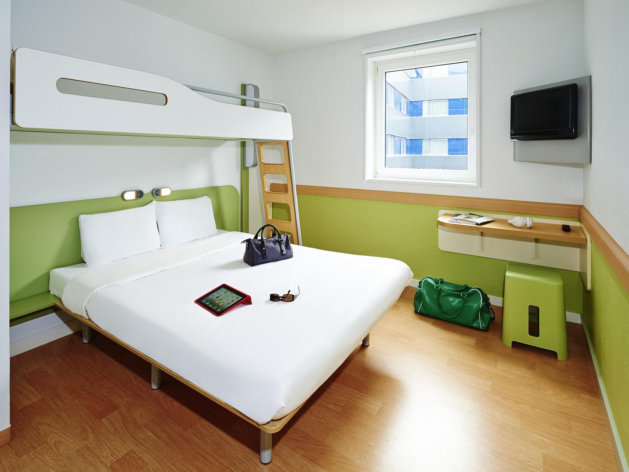 Hotel in bagnolet ibis budget parijs porte de bagnolet for Hotels ibis france