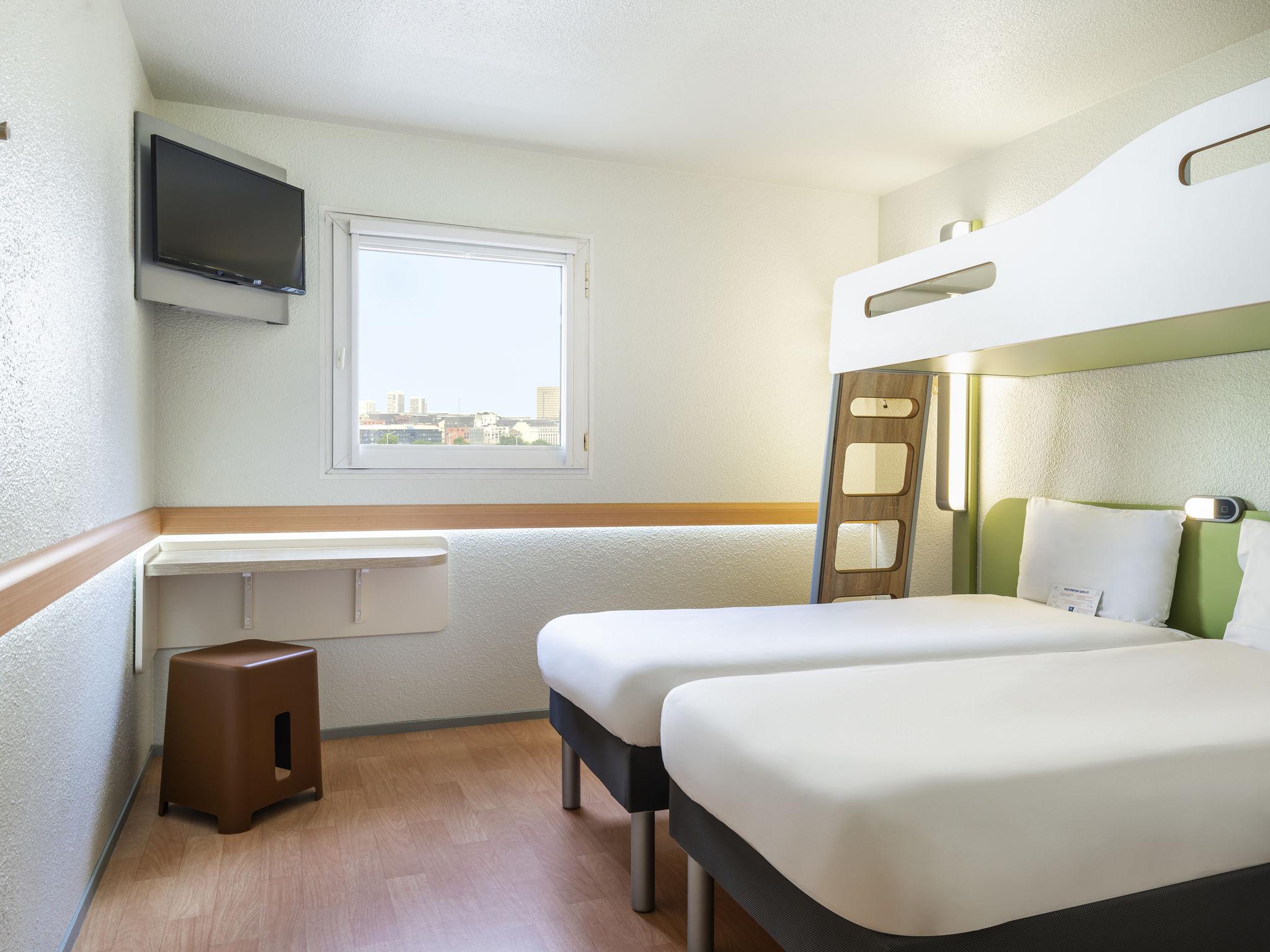 Отель — ibis budget Париж Порт-Де-Берси