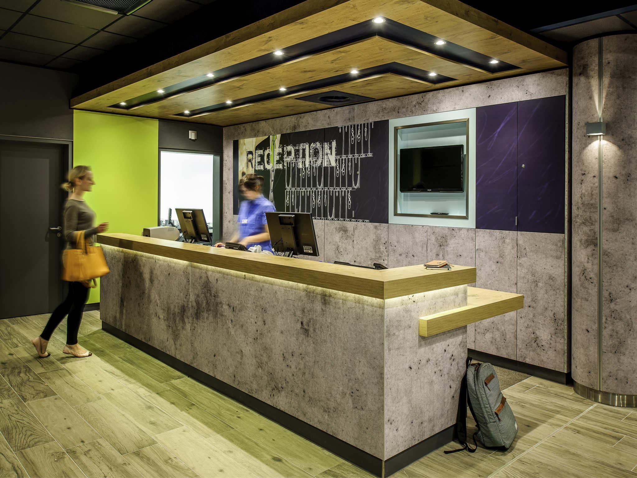 โรงแรม – ibis budget Nancy Porte Sud