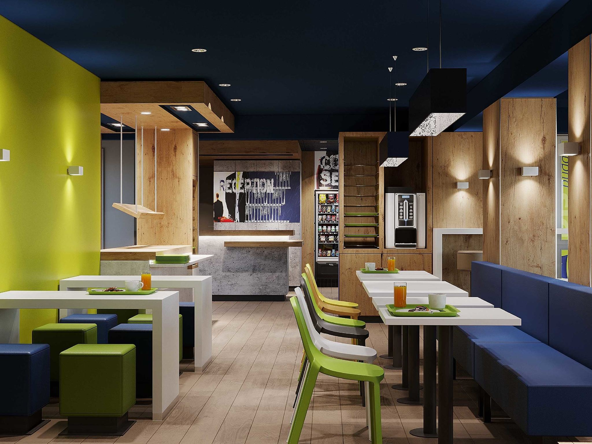 Hotel in chasseneuil du poitou ibis budget poitiers nord for Hotels futuroscope