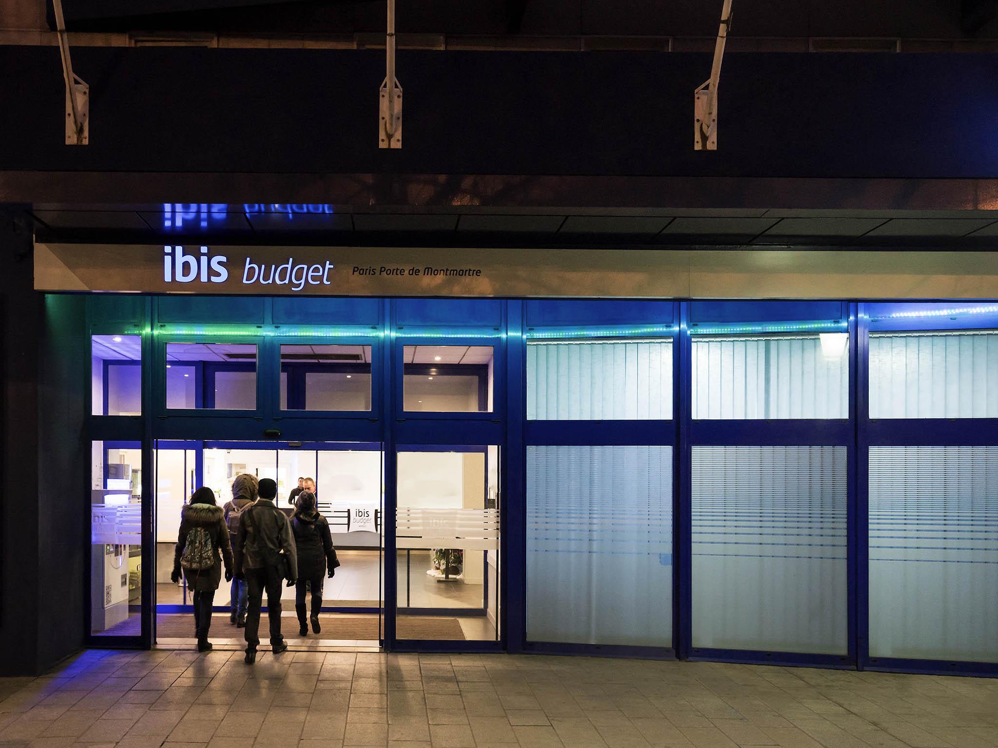 Hotel in paris ibis budget paris porte de montmartre for Hotel formule 1 porte montmartre