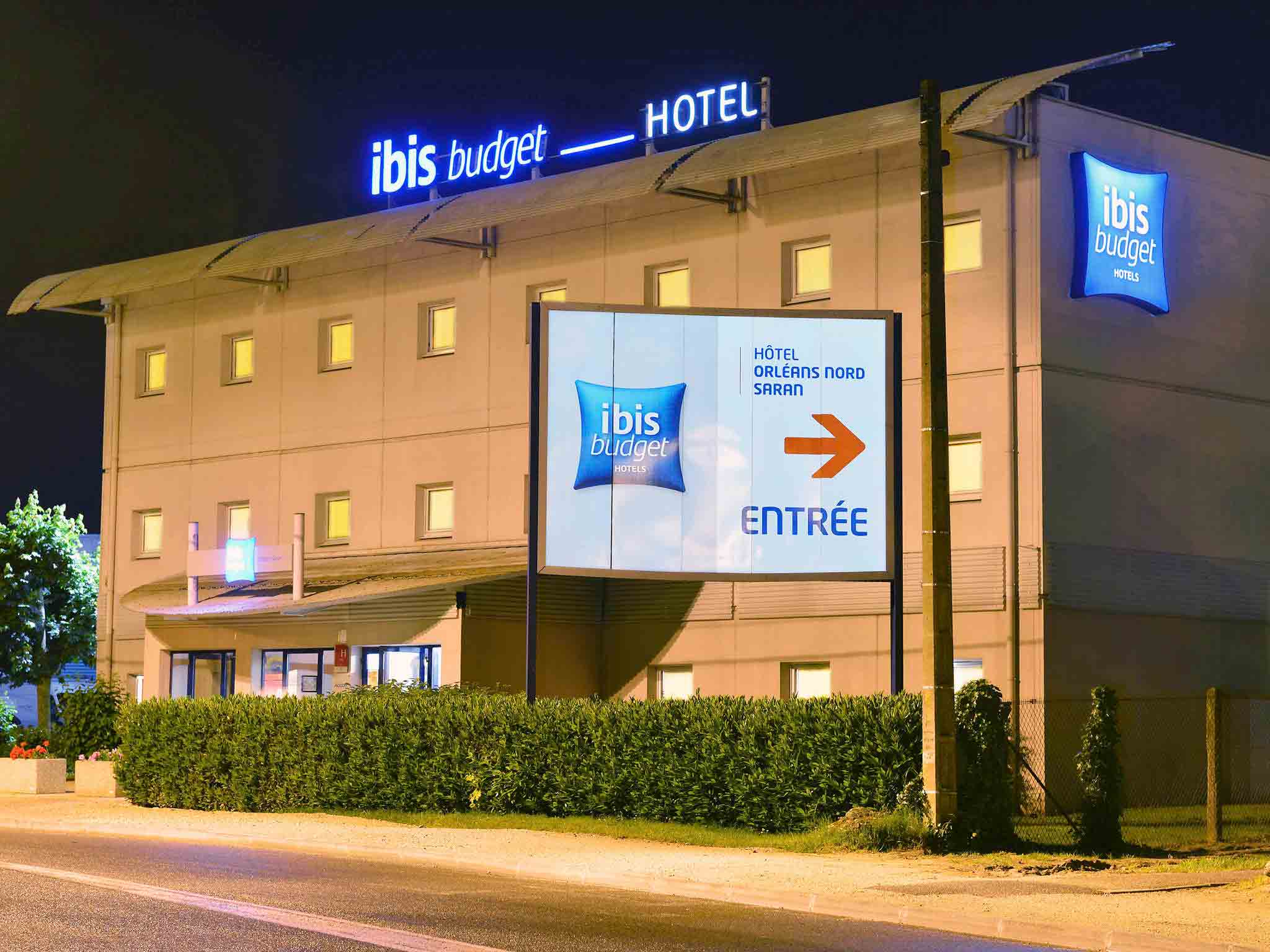 Hotell – ibis budget Orléans Nord Saran