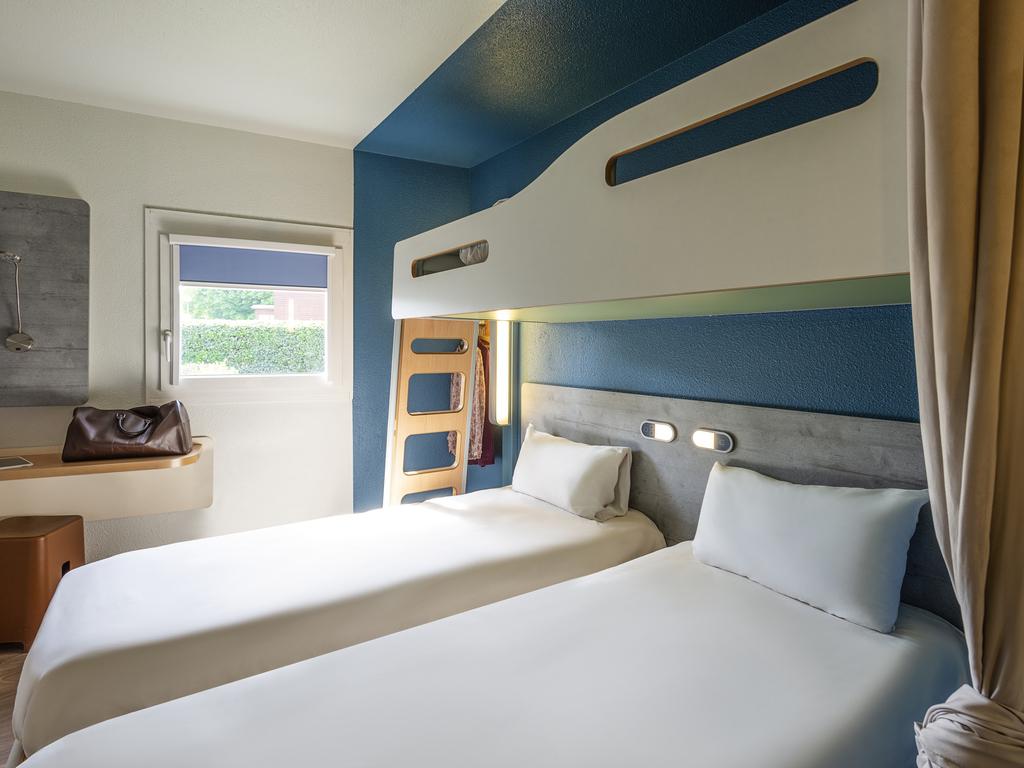 Letto A Castello 1 Persona.Hotel A Le Petit Quevilly Ibis Budget Rouen Petit Quevilly All