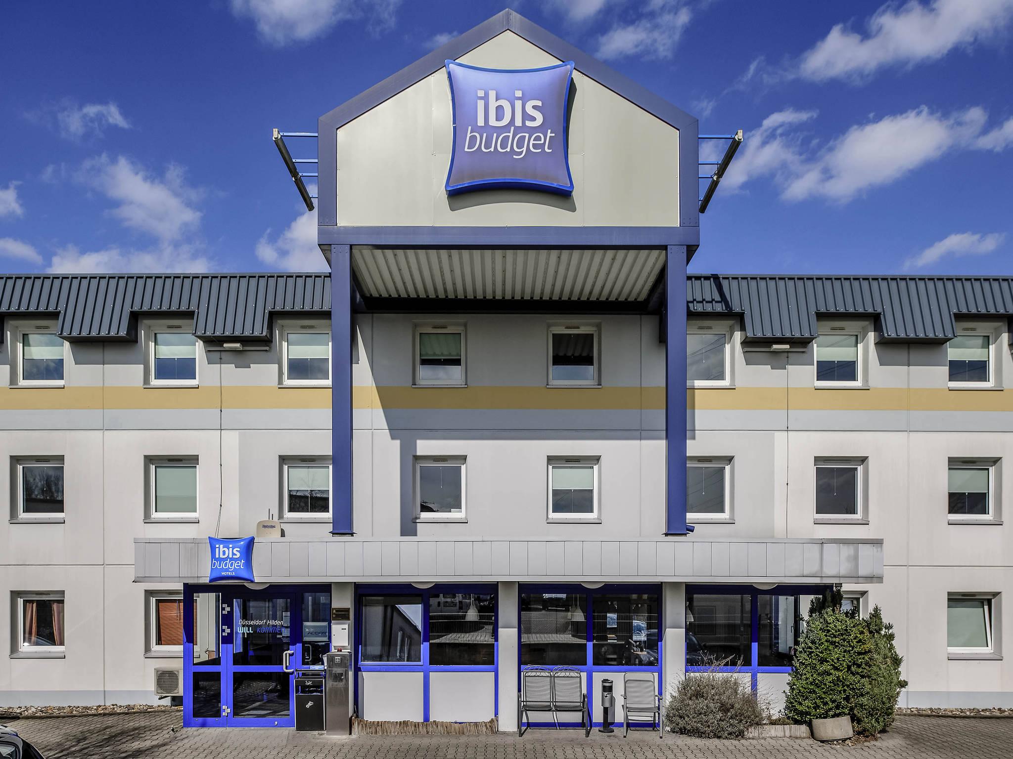 Hotell – ibis budget Duesseldorf Hilden