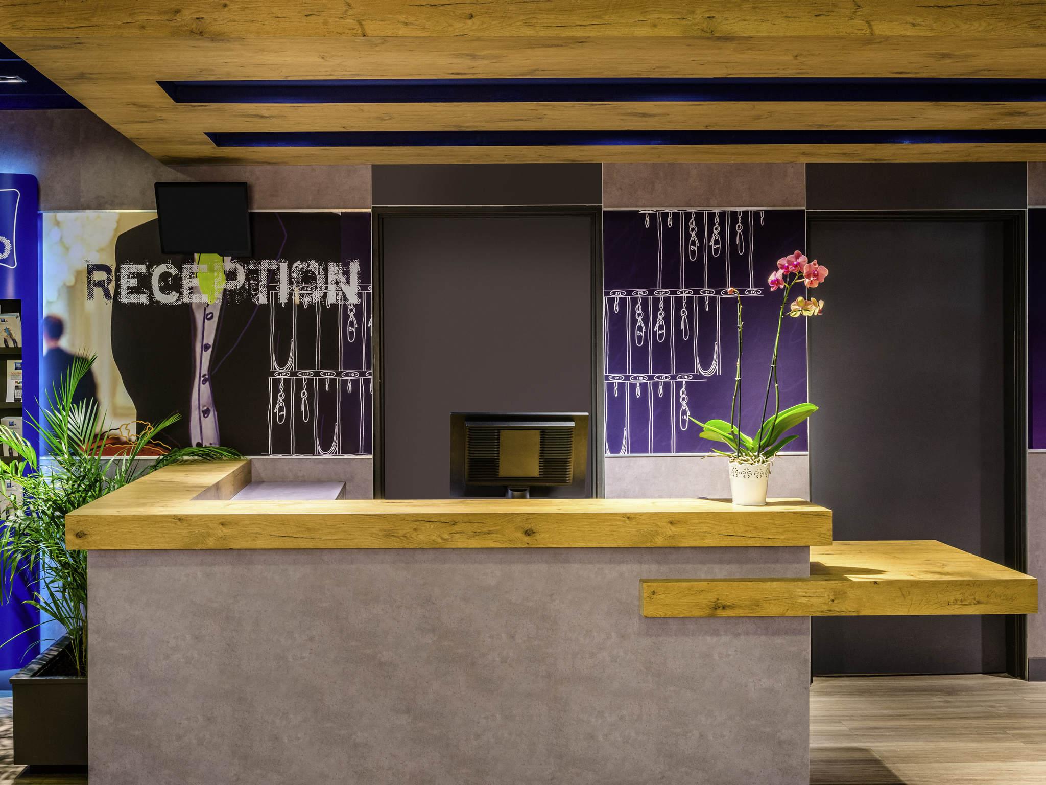 Отель — ibis budget Saint-Maurice