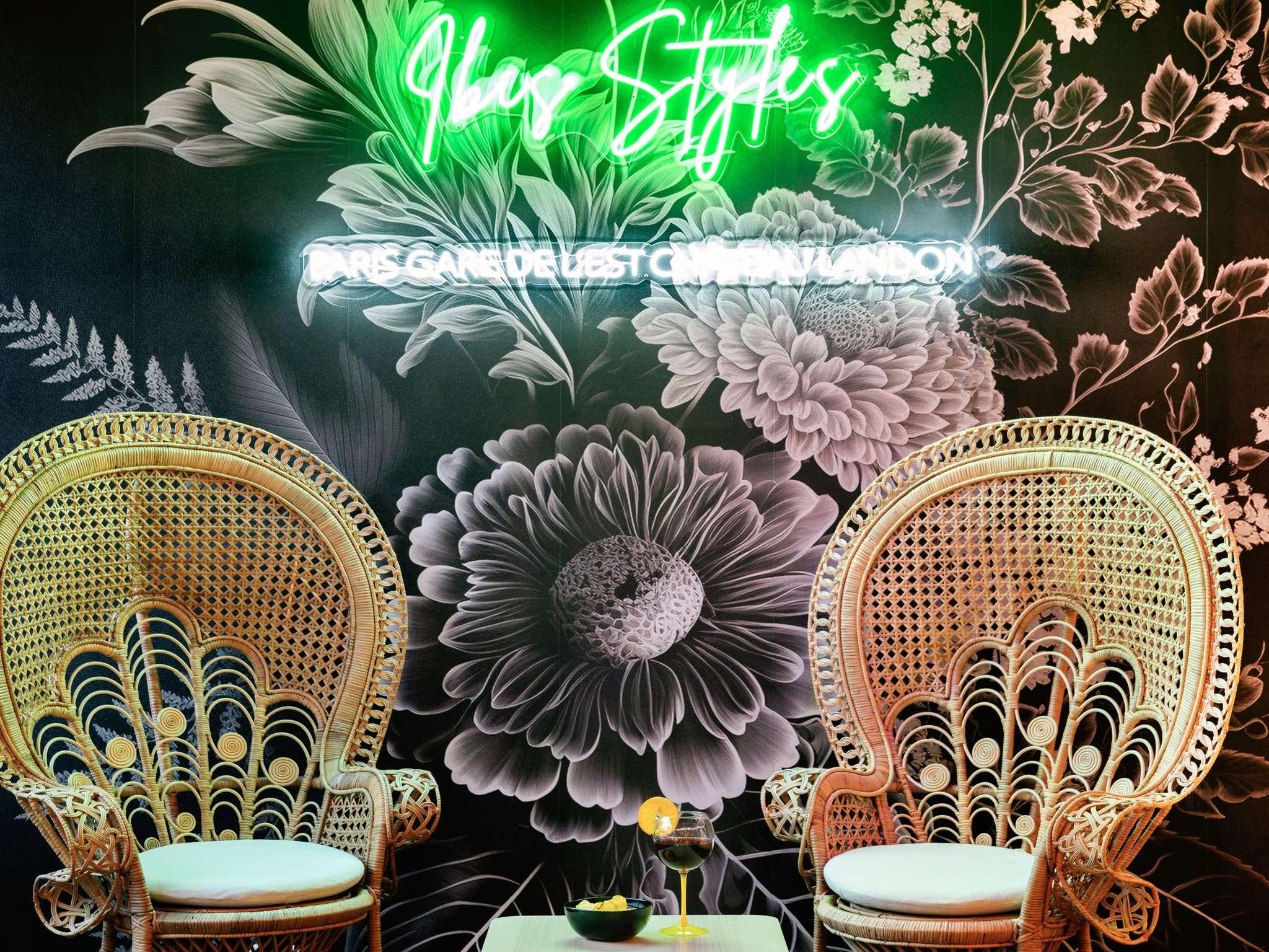 Отель — ibis Styles Париж Восточный Вокзал Шато Ландон