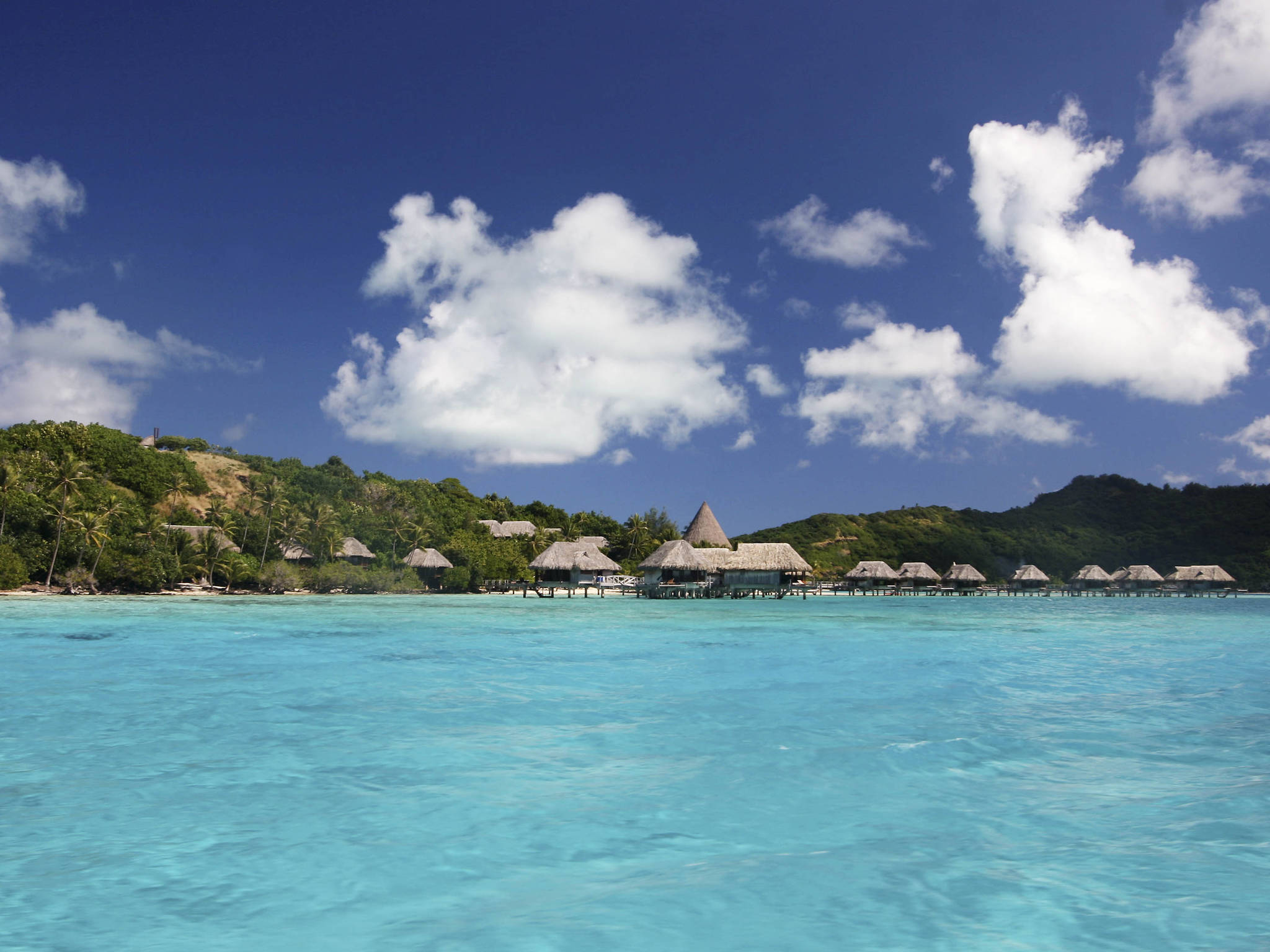 โรงแรม – Sofitel Bora Bora Private Island