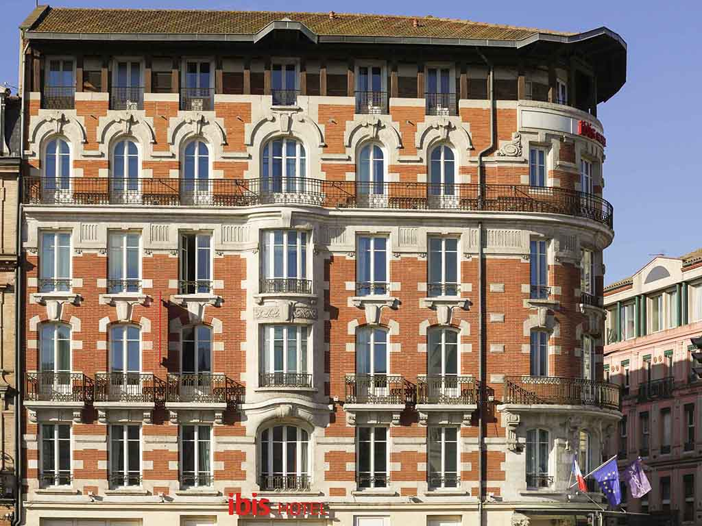 Hotel In Toulouse Ibis Toulouse Gare Matabiau Accorhotels