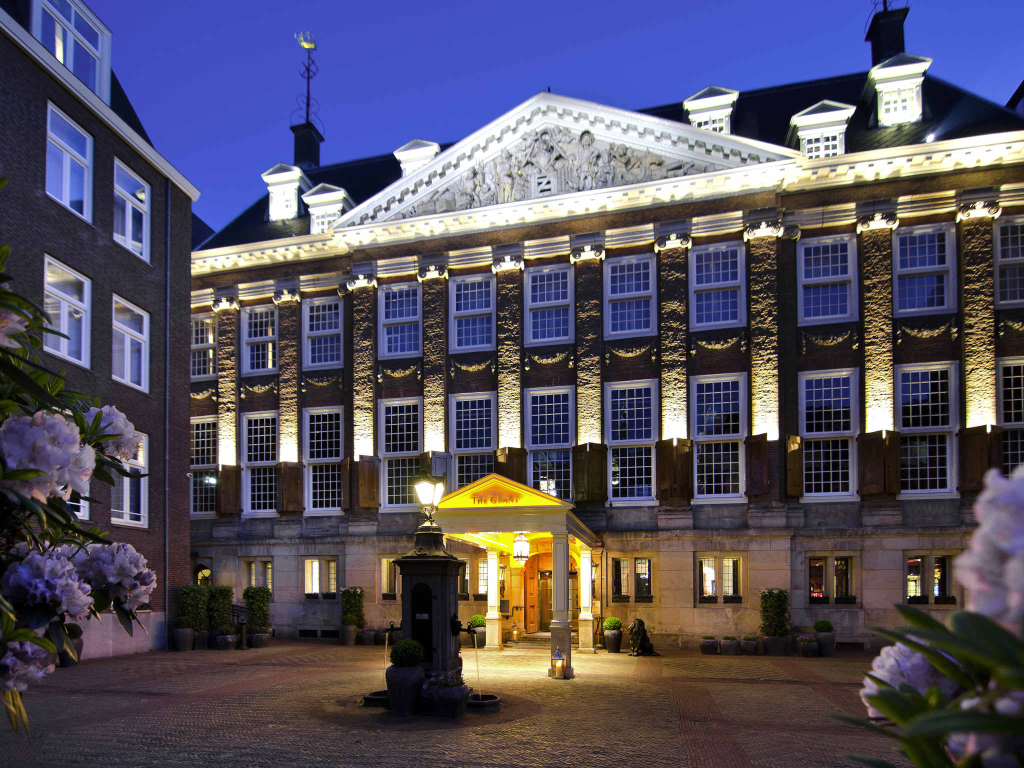 Luxury 5 star hotel amsterdam sofitel legend the grand for Designhotel holland