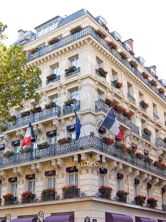 Itin raire et plan d 39 acc s l 39 h tel hotel baltimore paris for Hotel baltimore paris