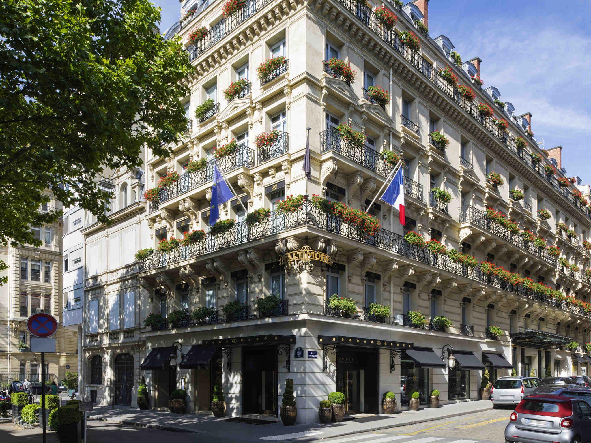 酒店 – 巴黎巴尔的摩埃菲尔铁塔酒店