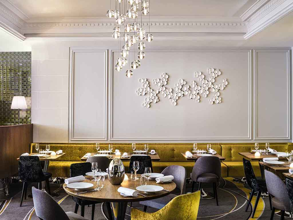 Carte blanche paris restaurants by accorhotels for Hotel baltimore paris