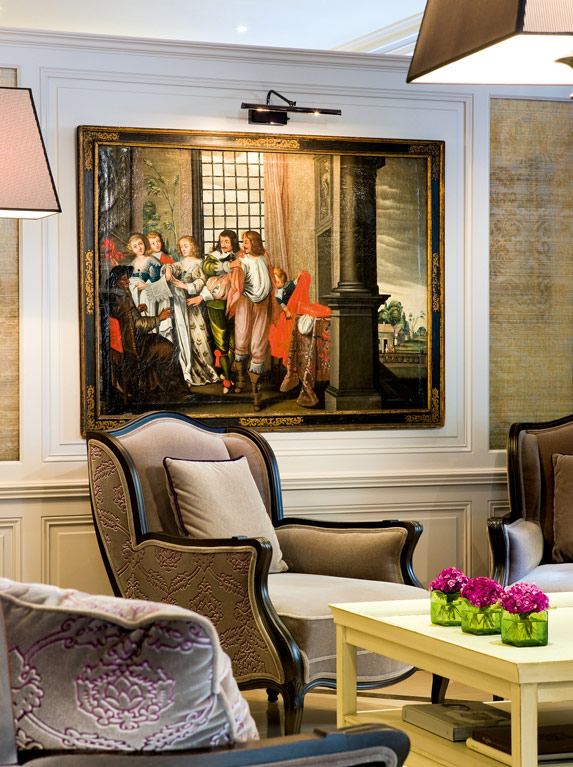 Boutique hotel paris hotel baltimore paris champs for Hotel baltimore paris