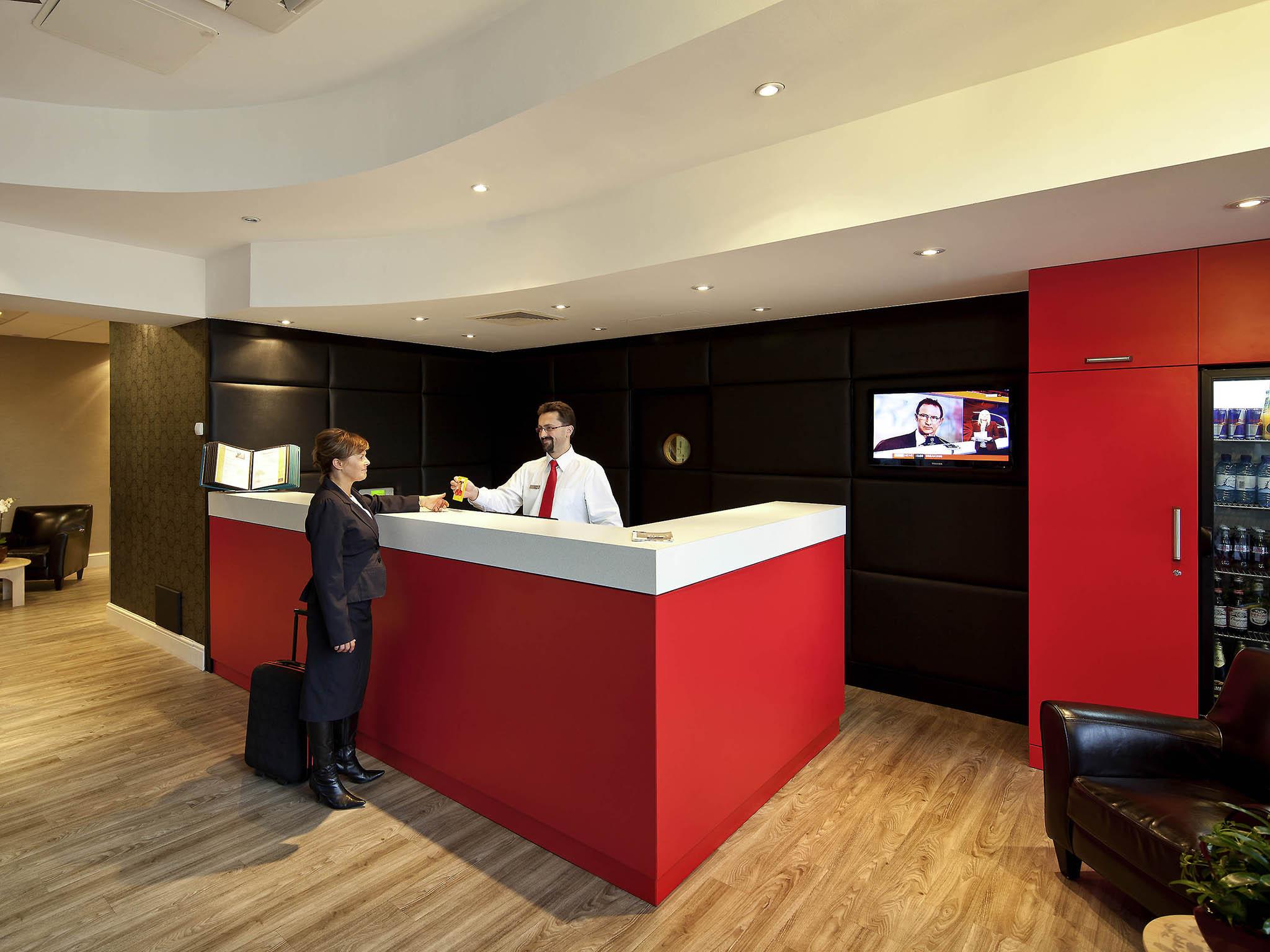 Отель — ibis Стивенэдж Центр