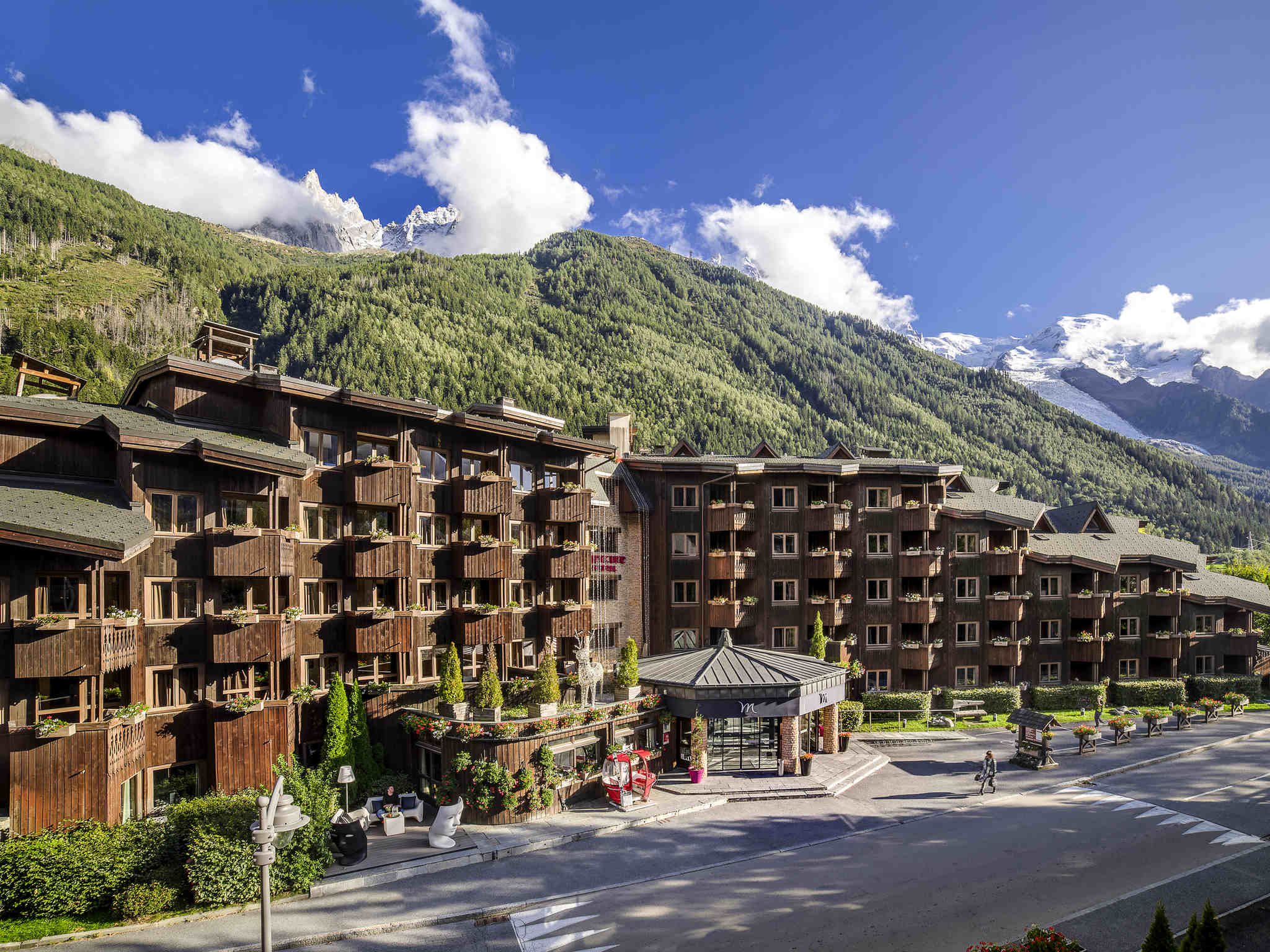 Hotel – Albergo Mercure Chamonix Centre