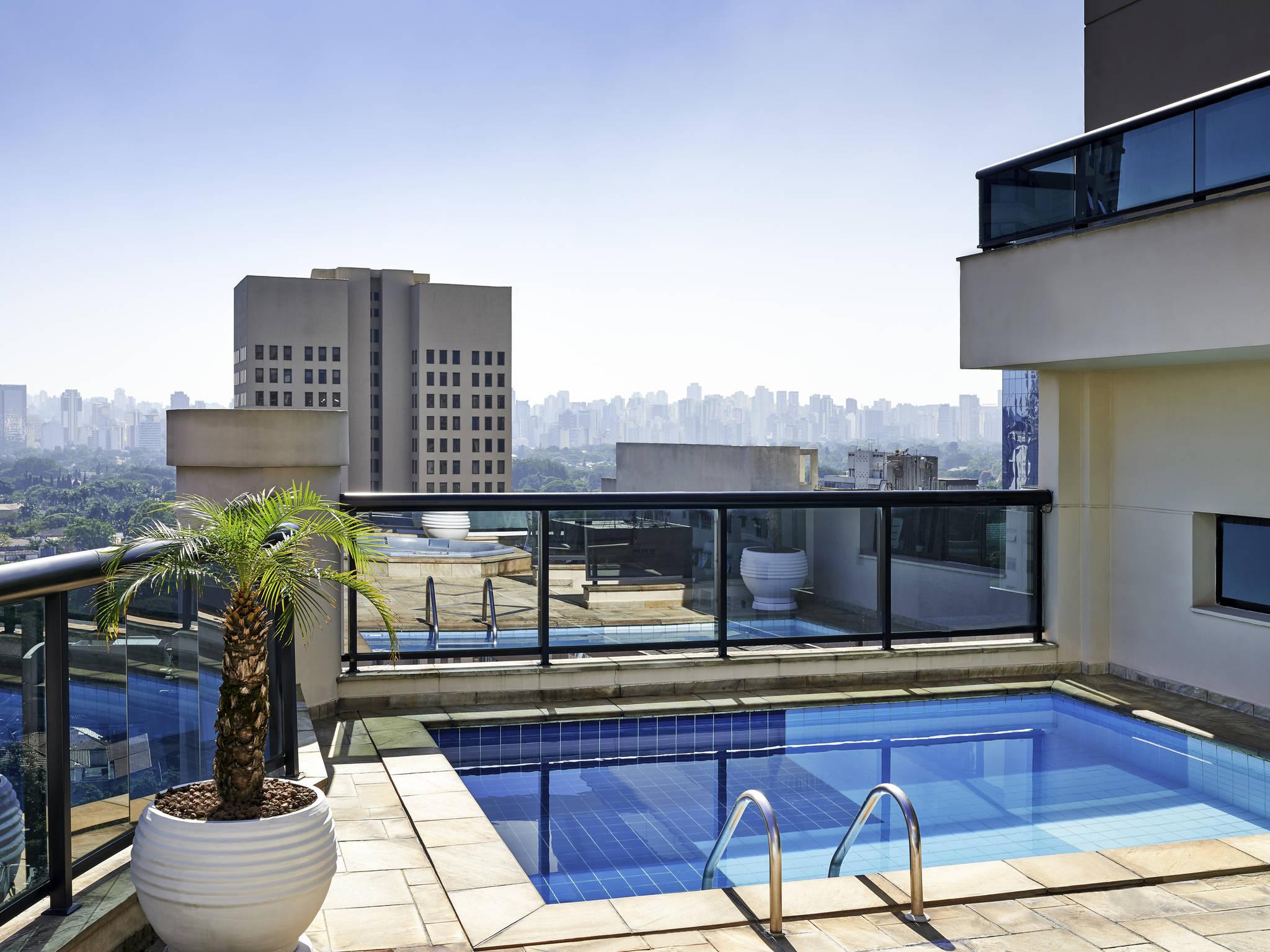 Hotell – Lägenhetshotellet Adagio São Paulo Itaim Bibi