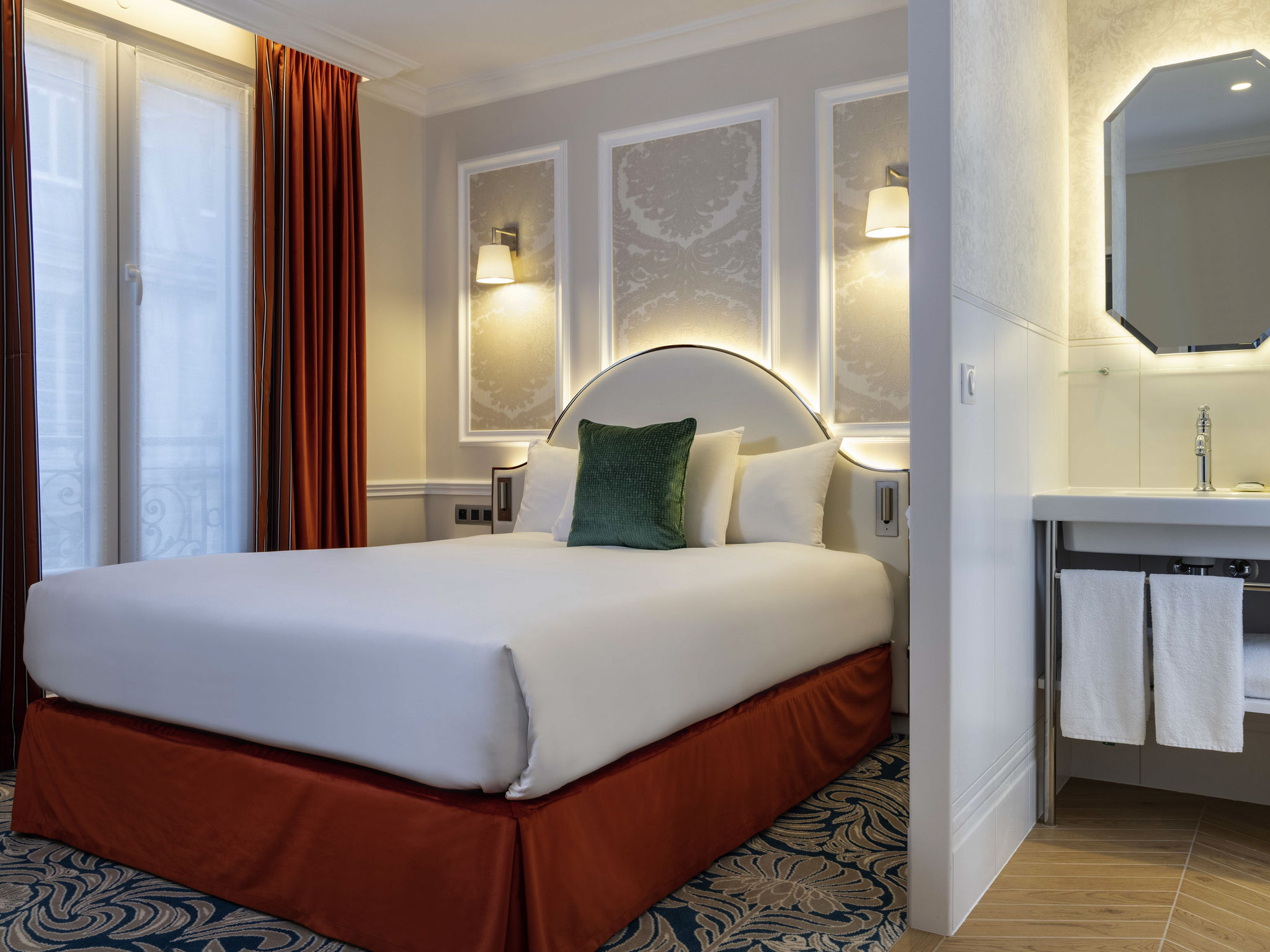 โรงแรม – โรงแรมเมอร์เคียว ปารีส ลา ซอร์บอนน์ แซงต์-แฌแม็ง เด เพร