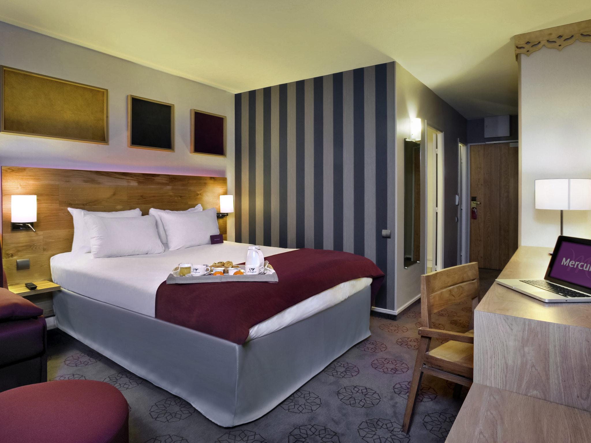 Отель — Hôtel Mercure Saint-Lary Sensoria