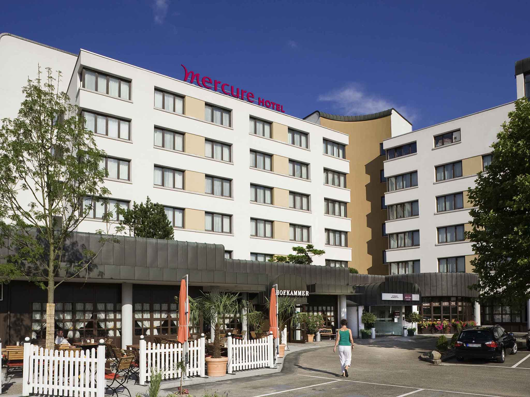 Отель — Mercure Hotel Offenburg am Messeplatz