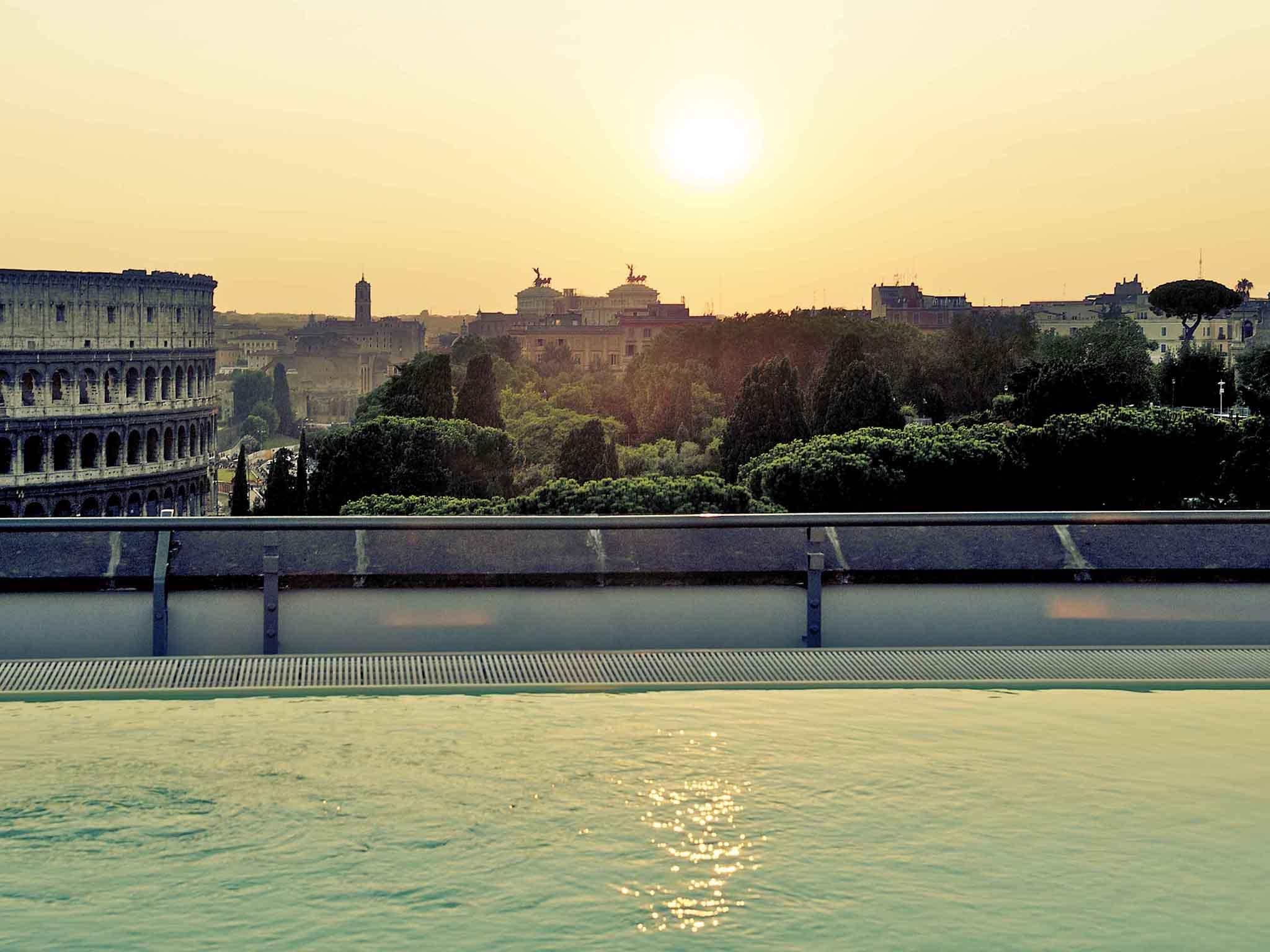호텔 – 머큐어 로마 센트로 콜로세오