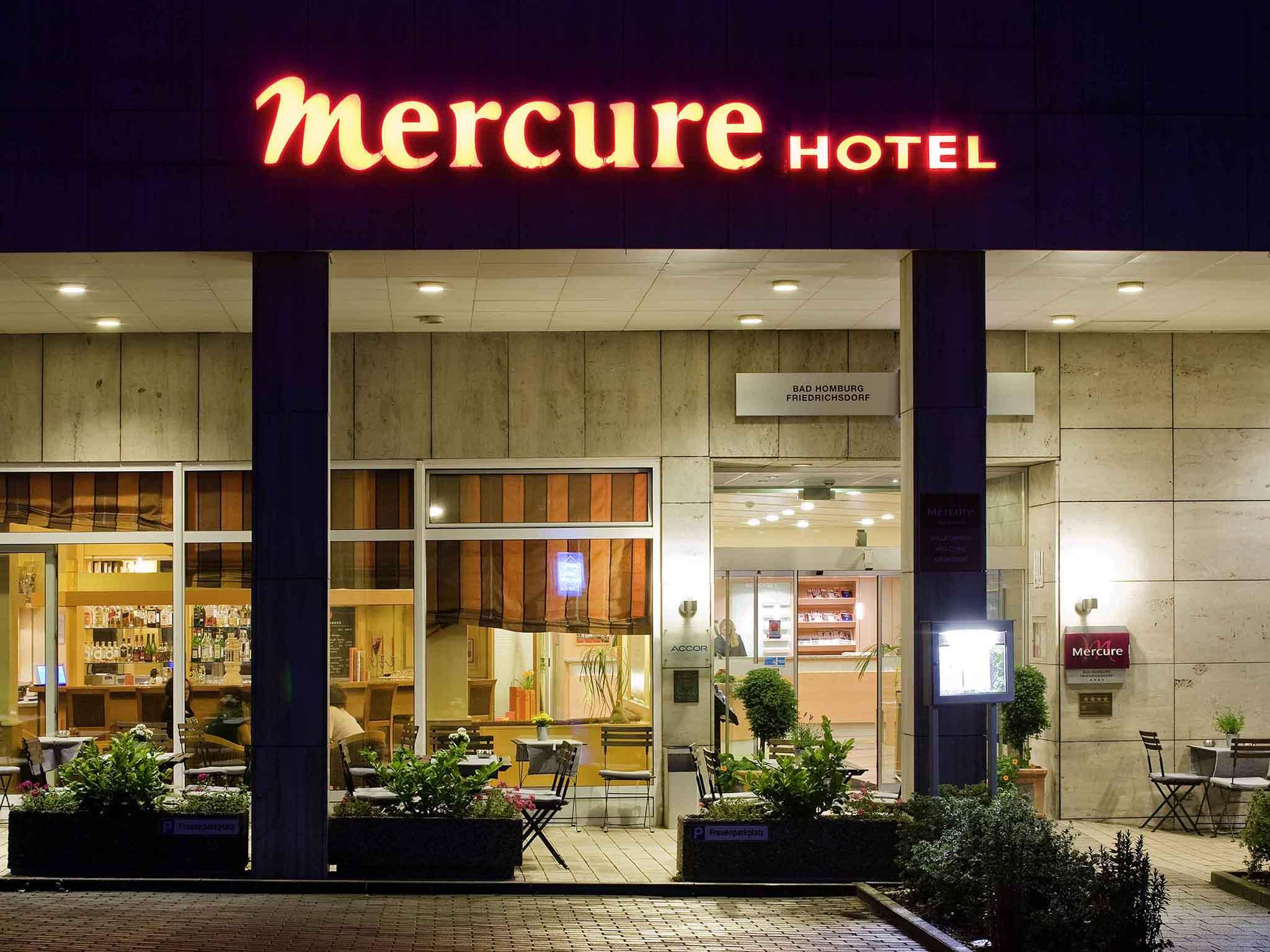 Отель — Mercure Hotel Bad Homburg Friedrichsdorf