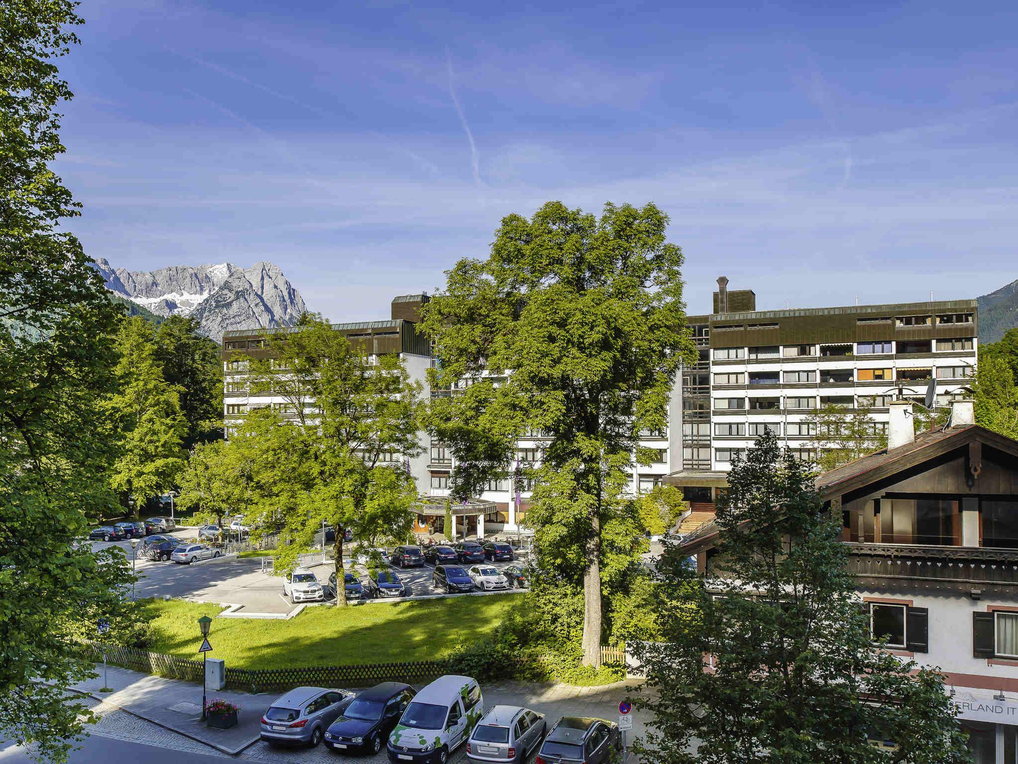 Отель — Mercure Hotel Garmisch Partenkirchen