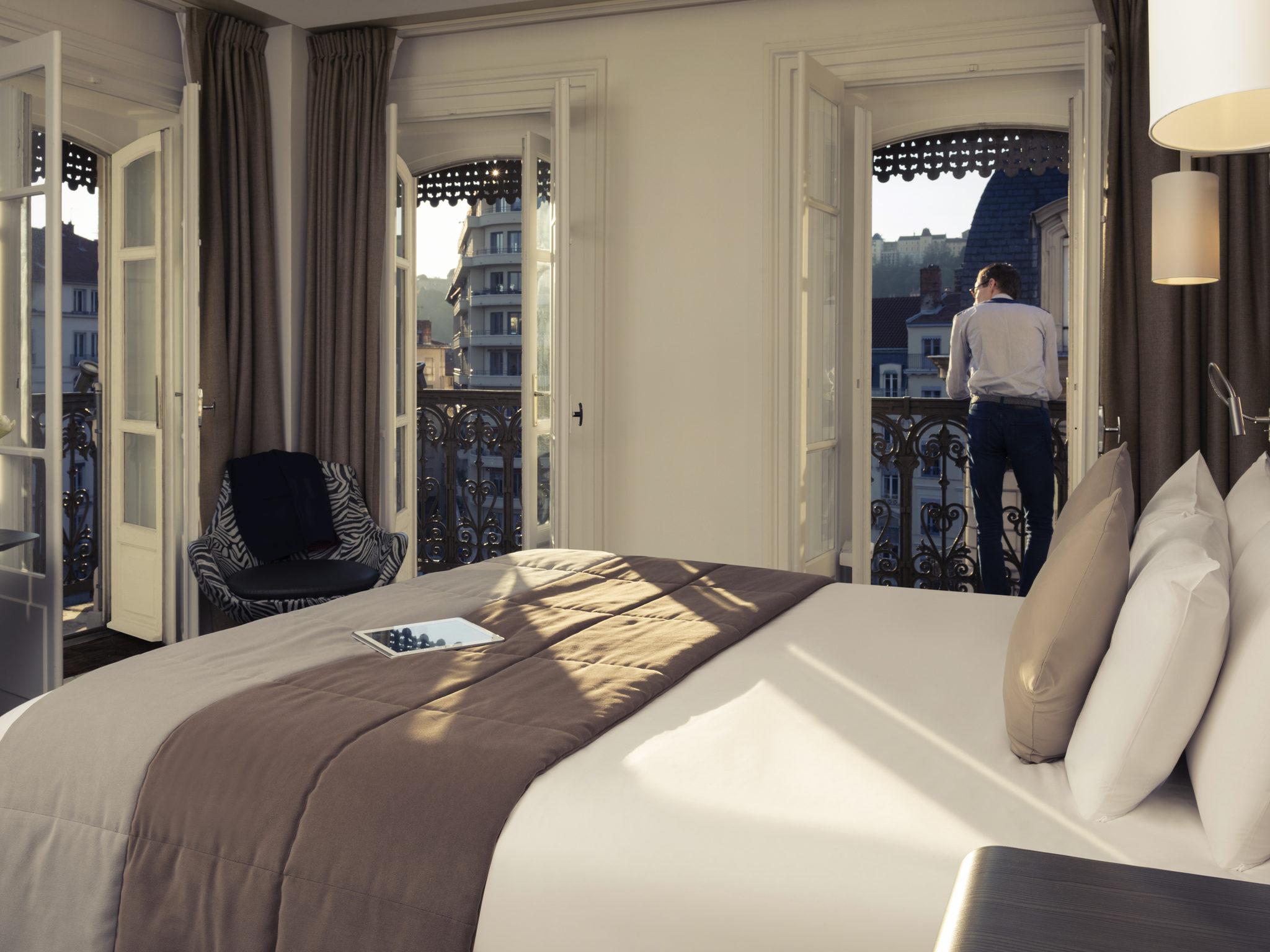 Hôtel - Hôtel Mercure Lyon Centre Beaux-Arts
