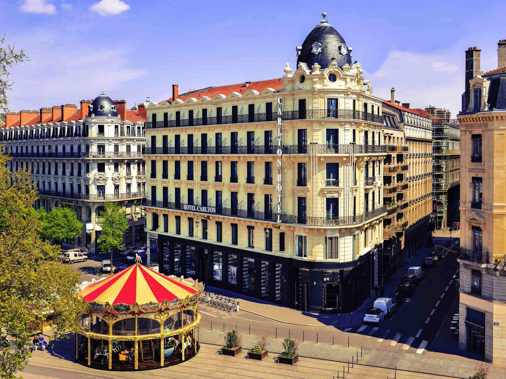 Отель — Отель Карлтон Лион - MGallery by Sofitel