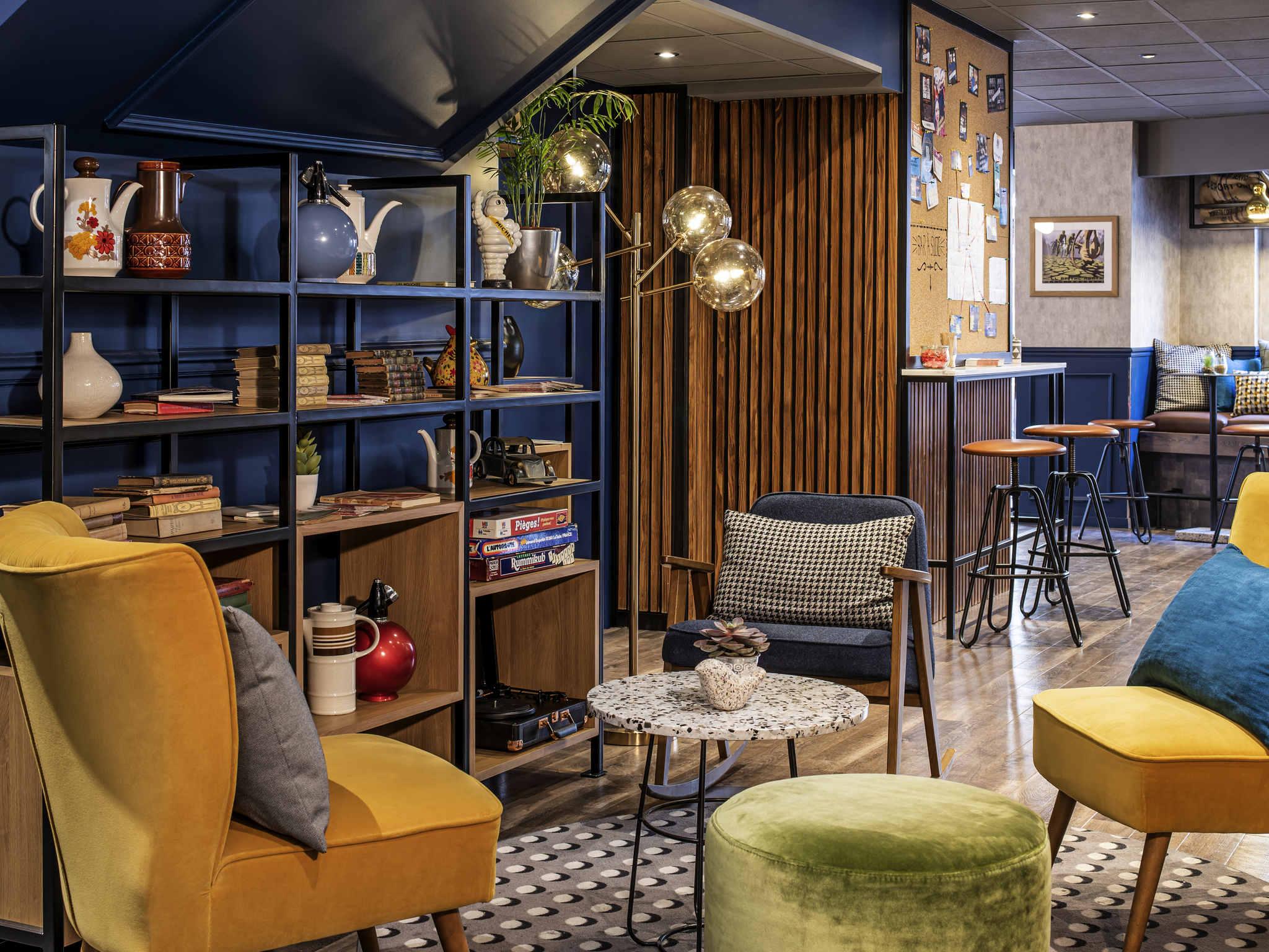 Hotel – ibis París Grandes Bulevares distrito IX