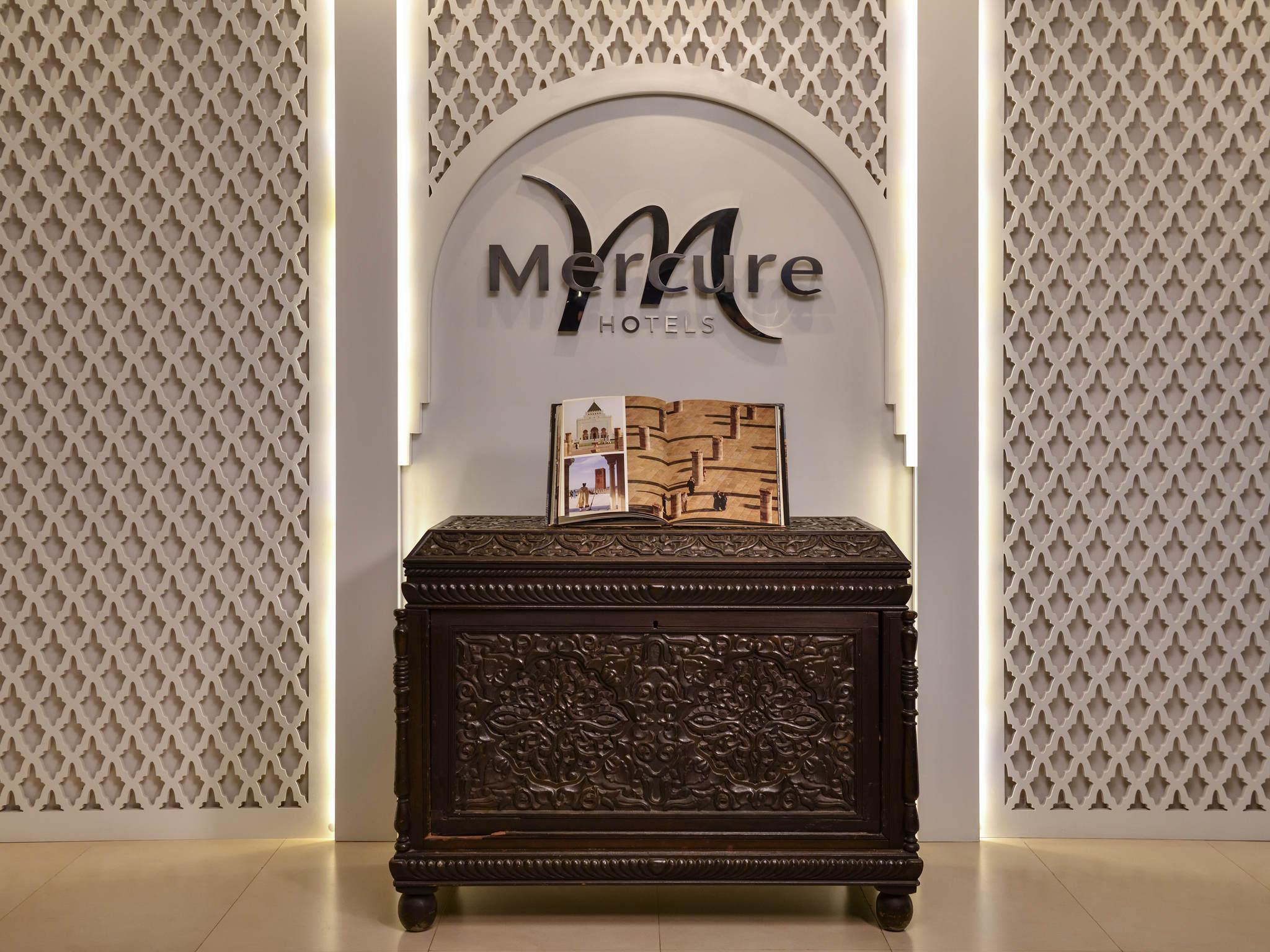 โรงแรม – Hôtel Mercure Rabat Sheherazade