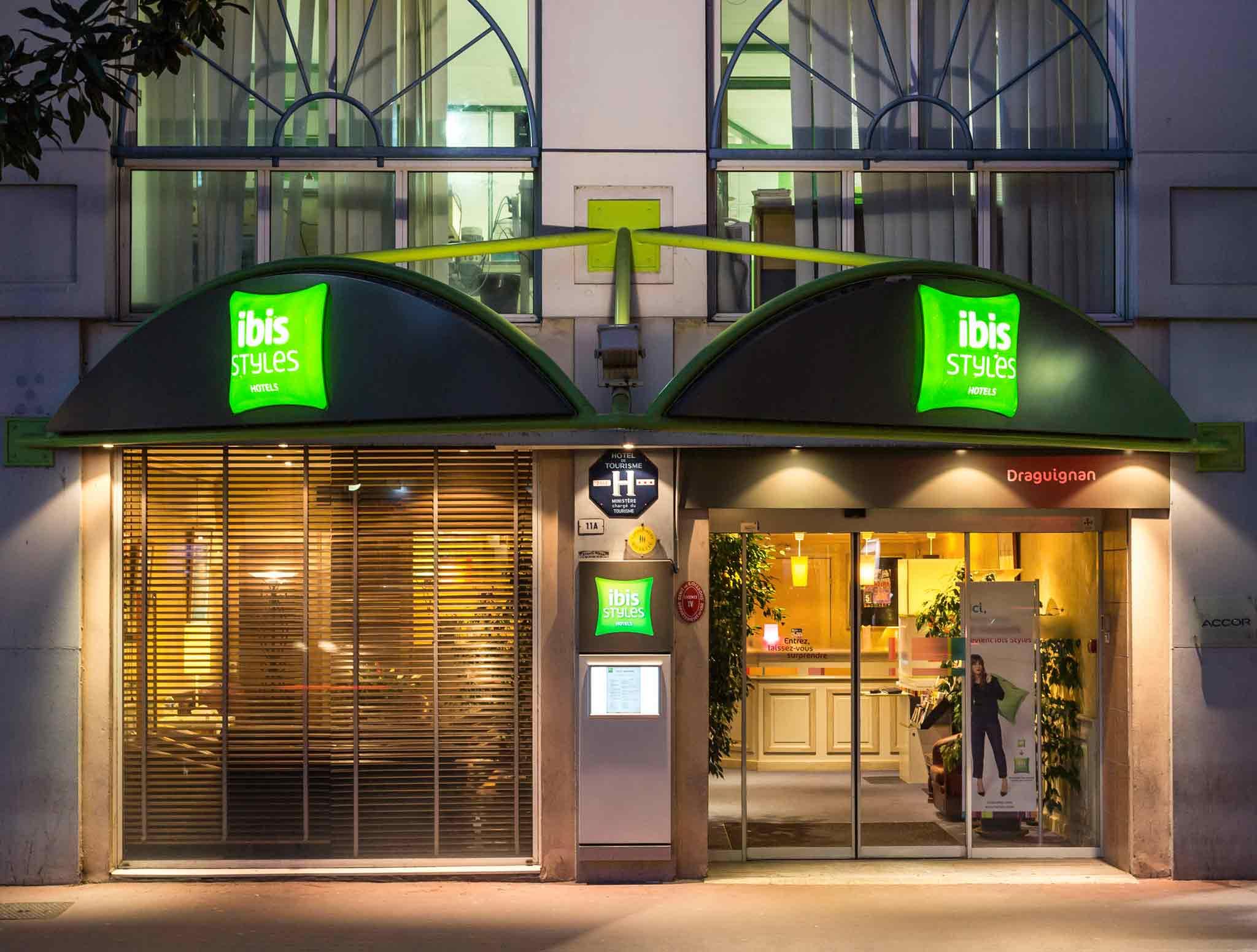 Отель — ibis Styles Draguignan