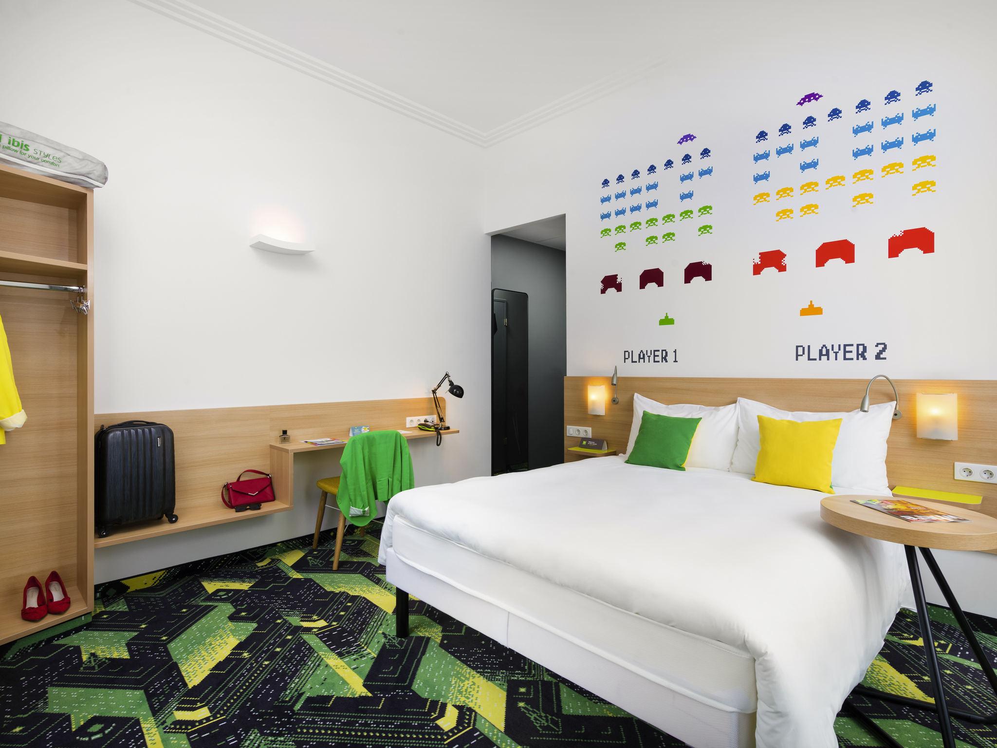 Hotell – ibis Styles Budapest Center