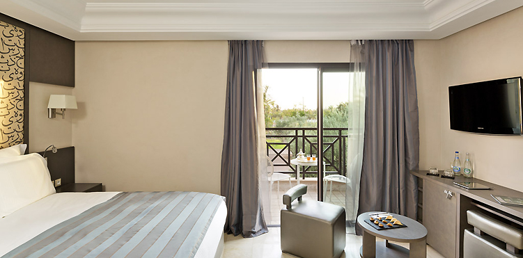 Chambres suites pullman marrakech palmeraie resort spa for Hotel spa chambre