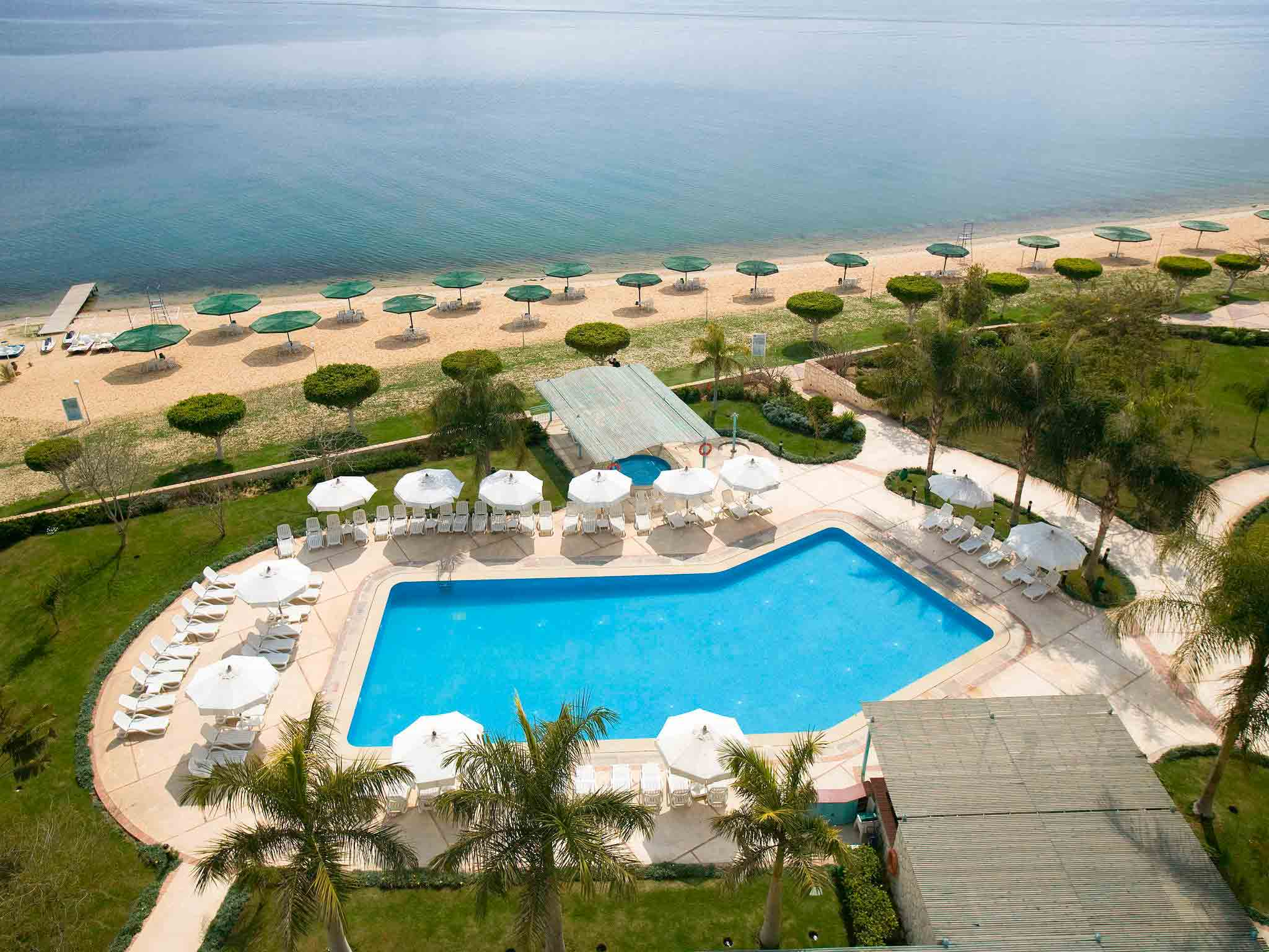 Отель — Mercure Ismailia Forsan Island Hotel