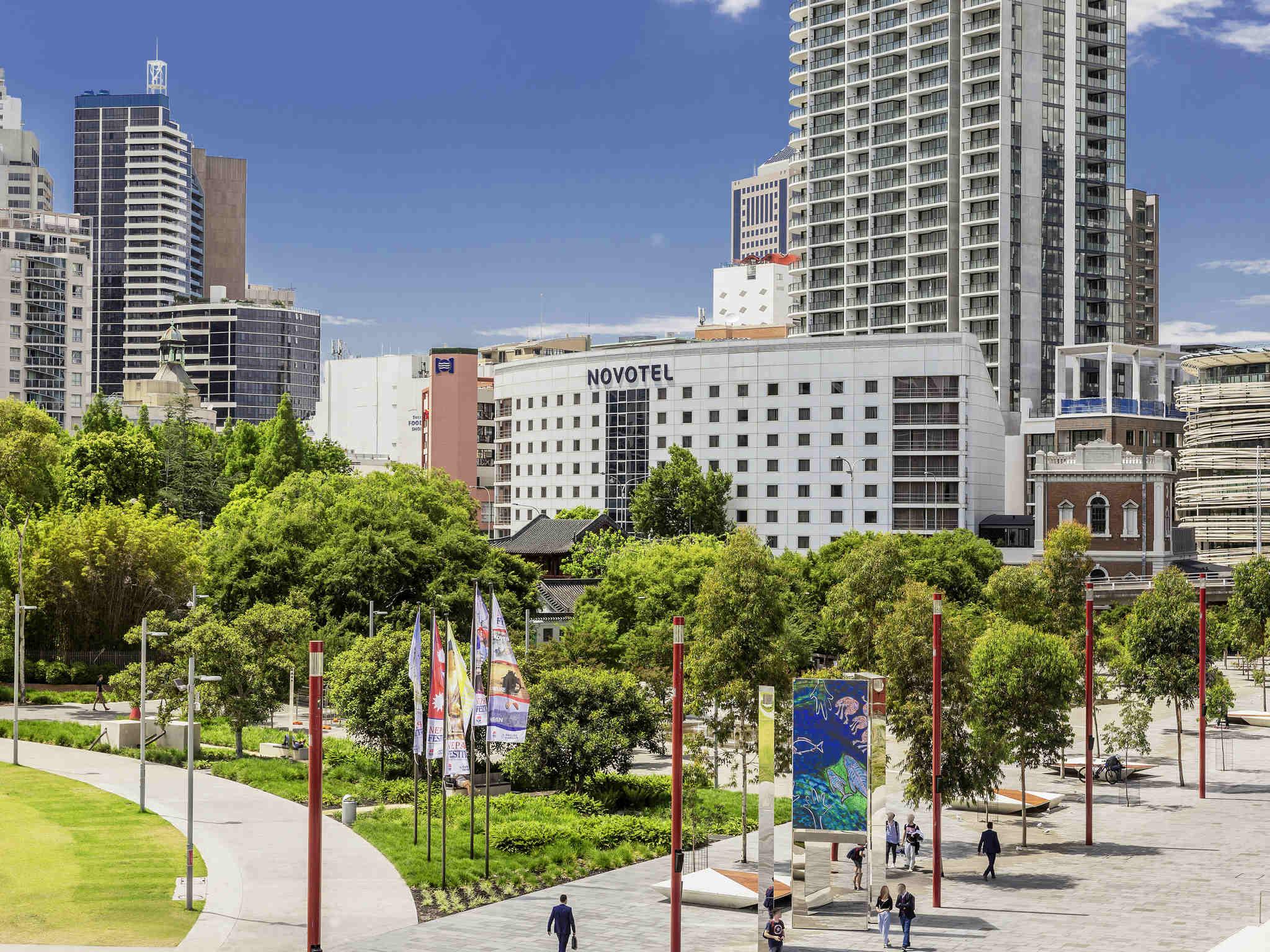 Отель — Novotel Сидней Дарлинг-Сквер