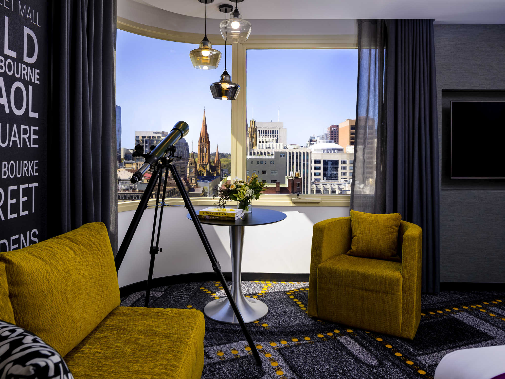 Отель — Суонстон Мельбурн Grand Mercure