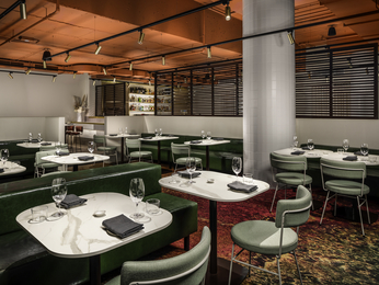 Restaurant - The Swanston Hotel Melbourne Grand Mercure