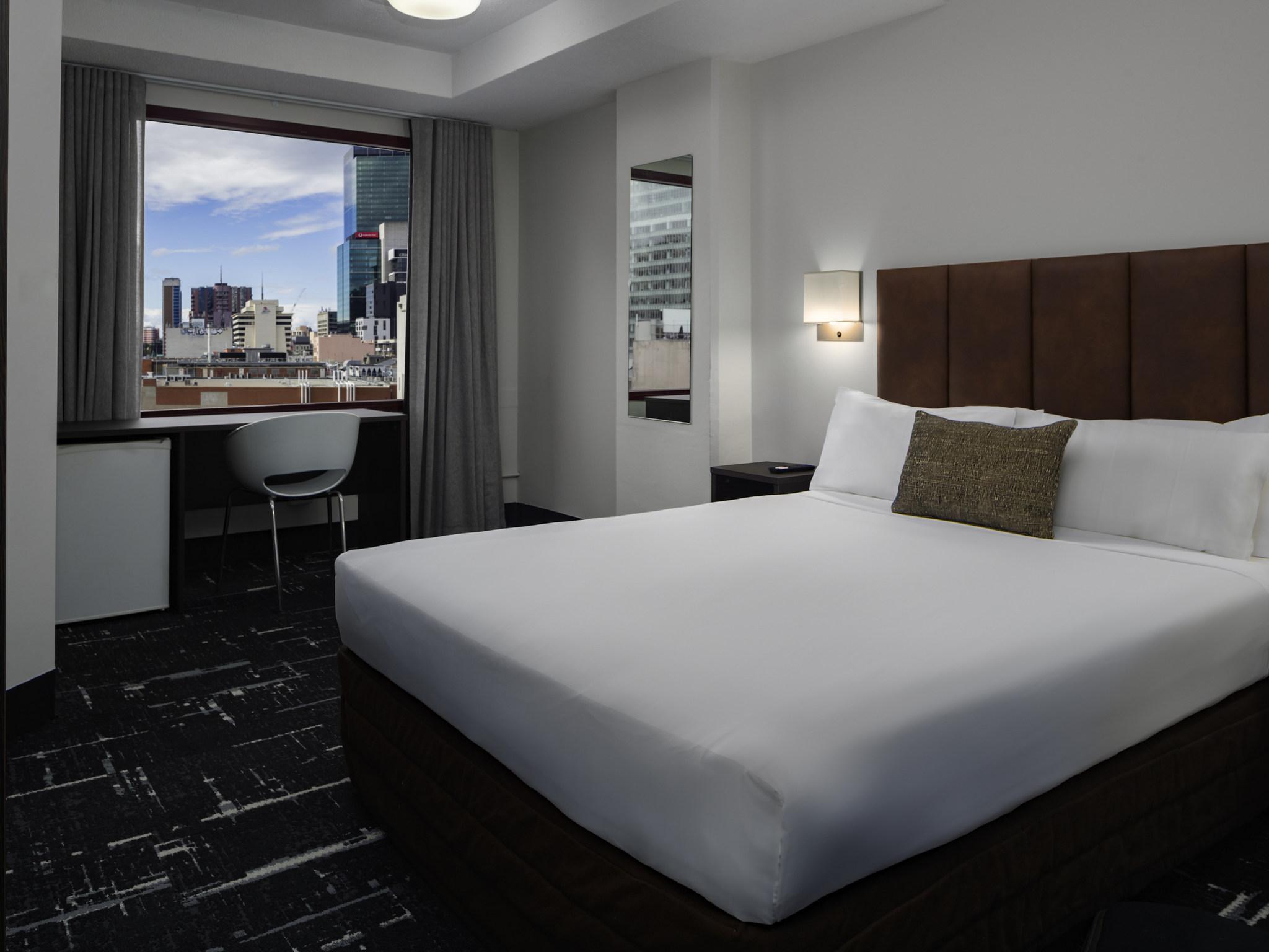 โรงแรม – เมอร์เคียว เวลคัม เมลเบิร์น