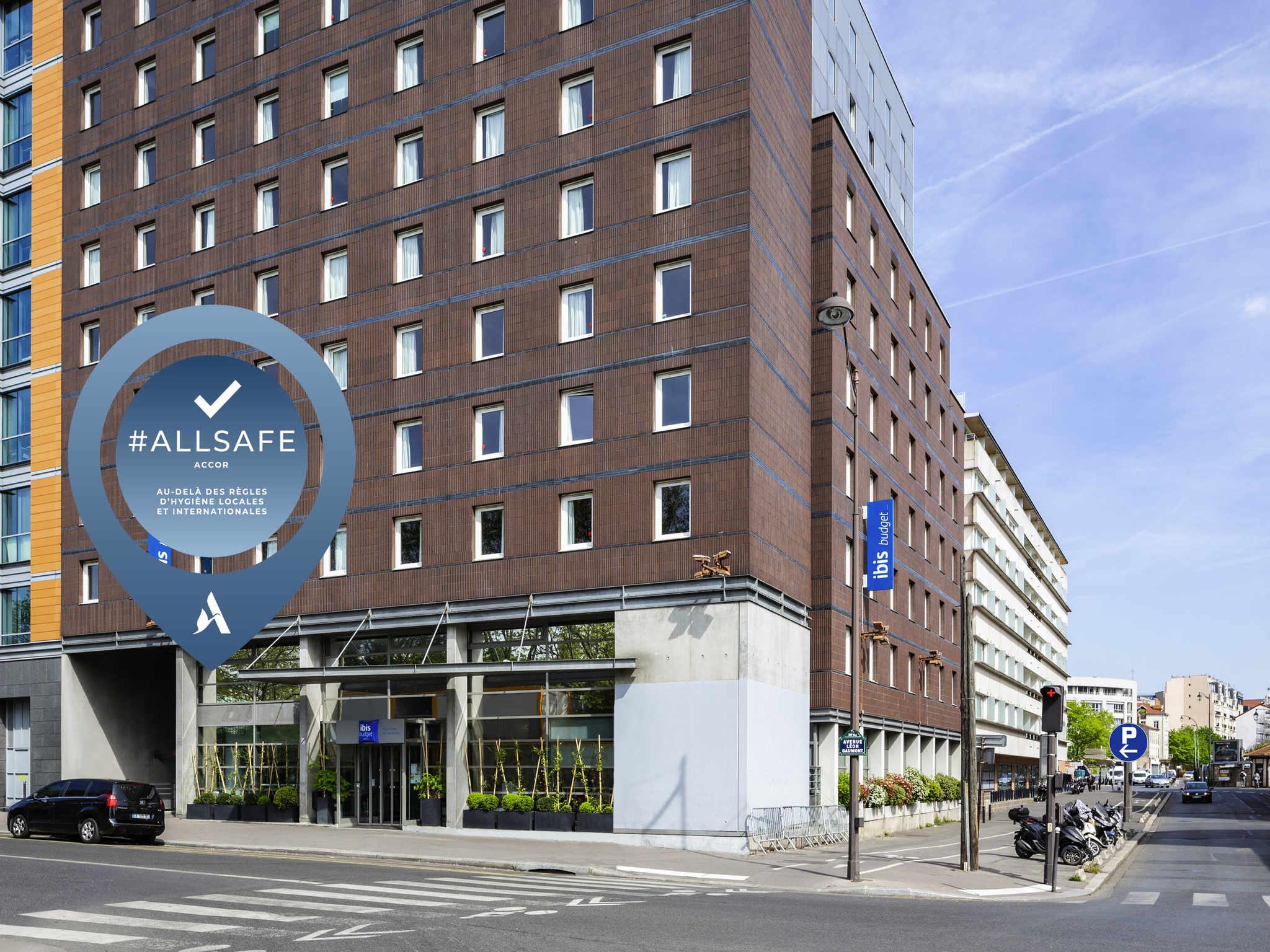 Отель — ibis budget Париж Порт-де-Винсенн