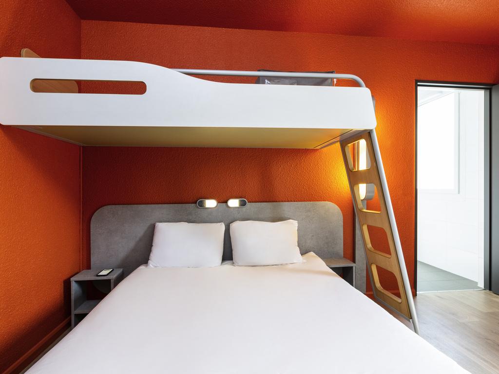 Letto A Castello Triple.Hotel A Parigi Ibis Budget Parigi Porte De Vincennes
