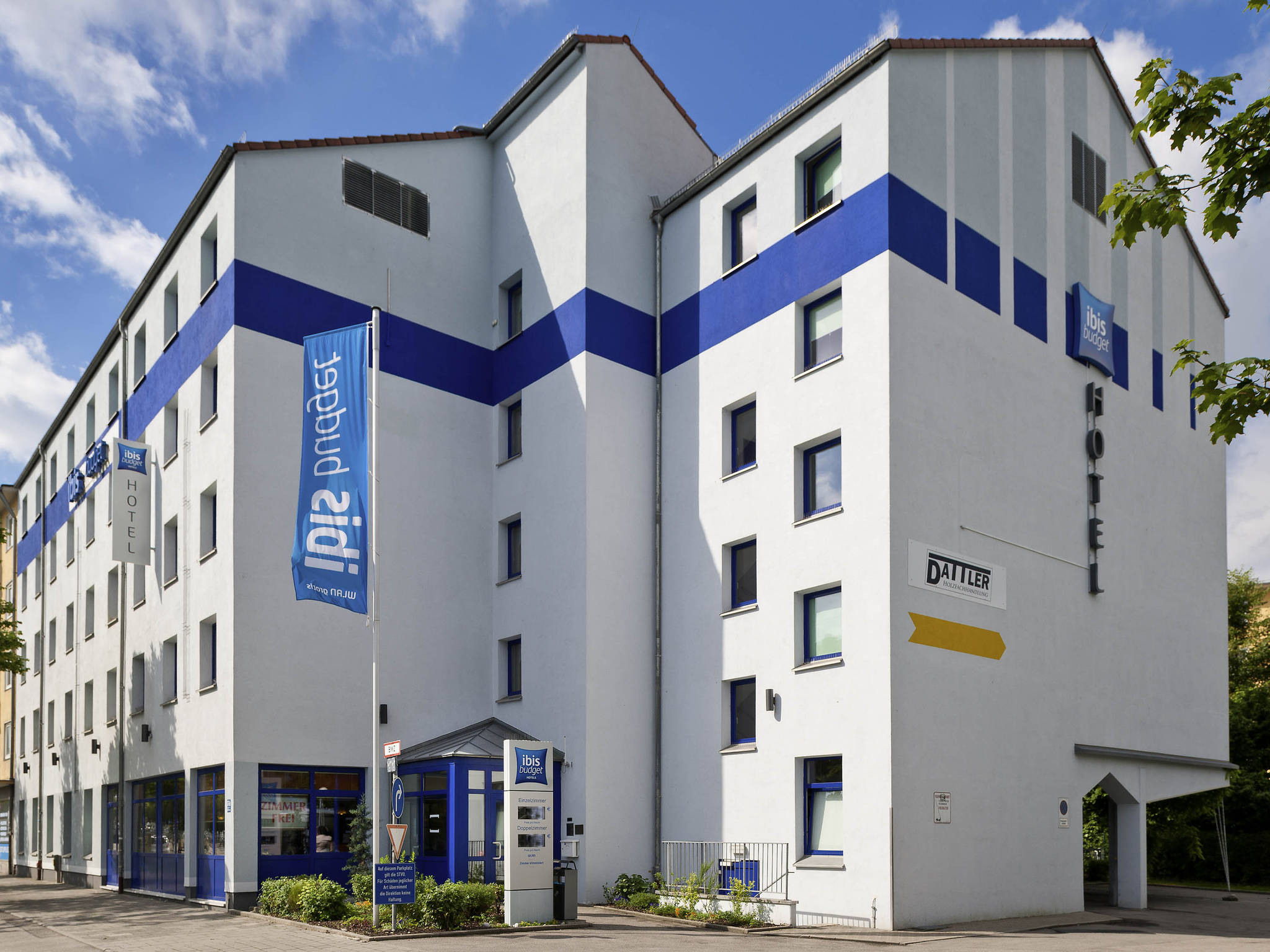 Hotell – ibis budget Muenchen City Sued