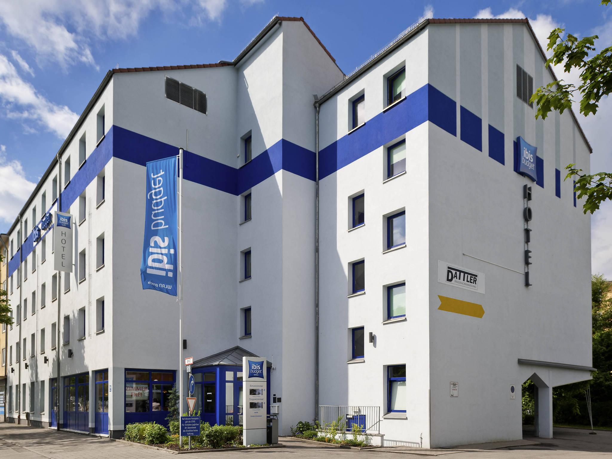 Otel – ibis budget Muenchen City Sued