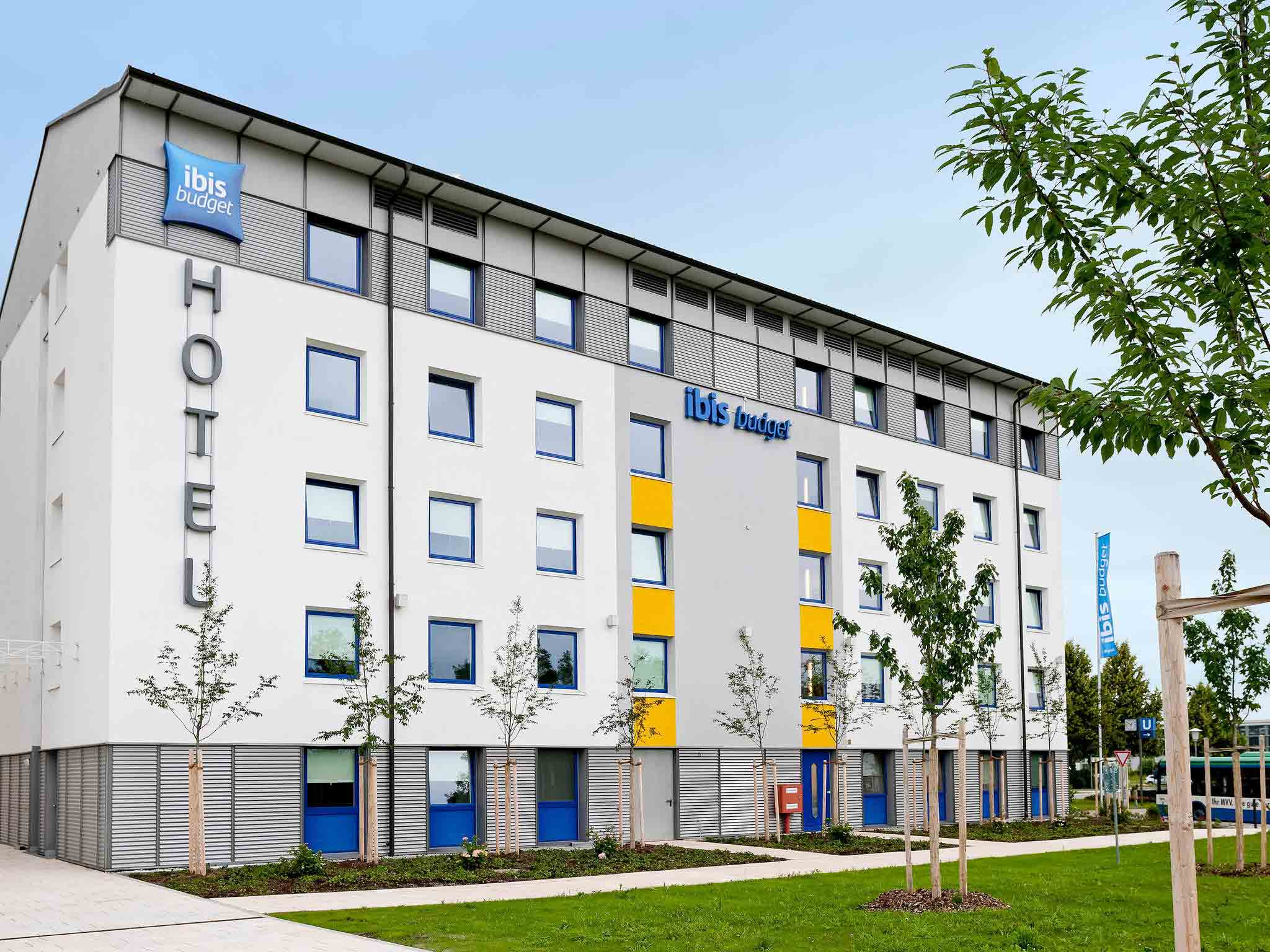 Отель — ibis budget Мюнхен Север Гархинг