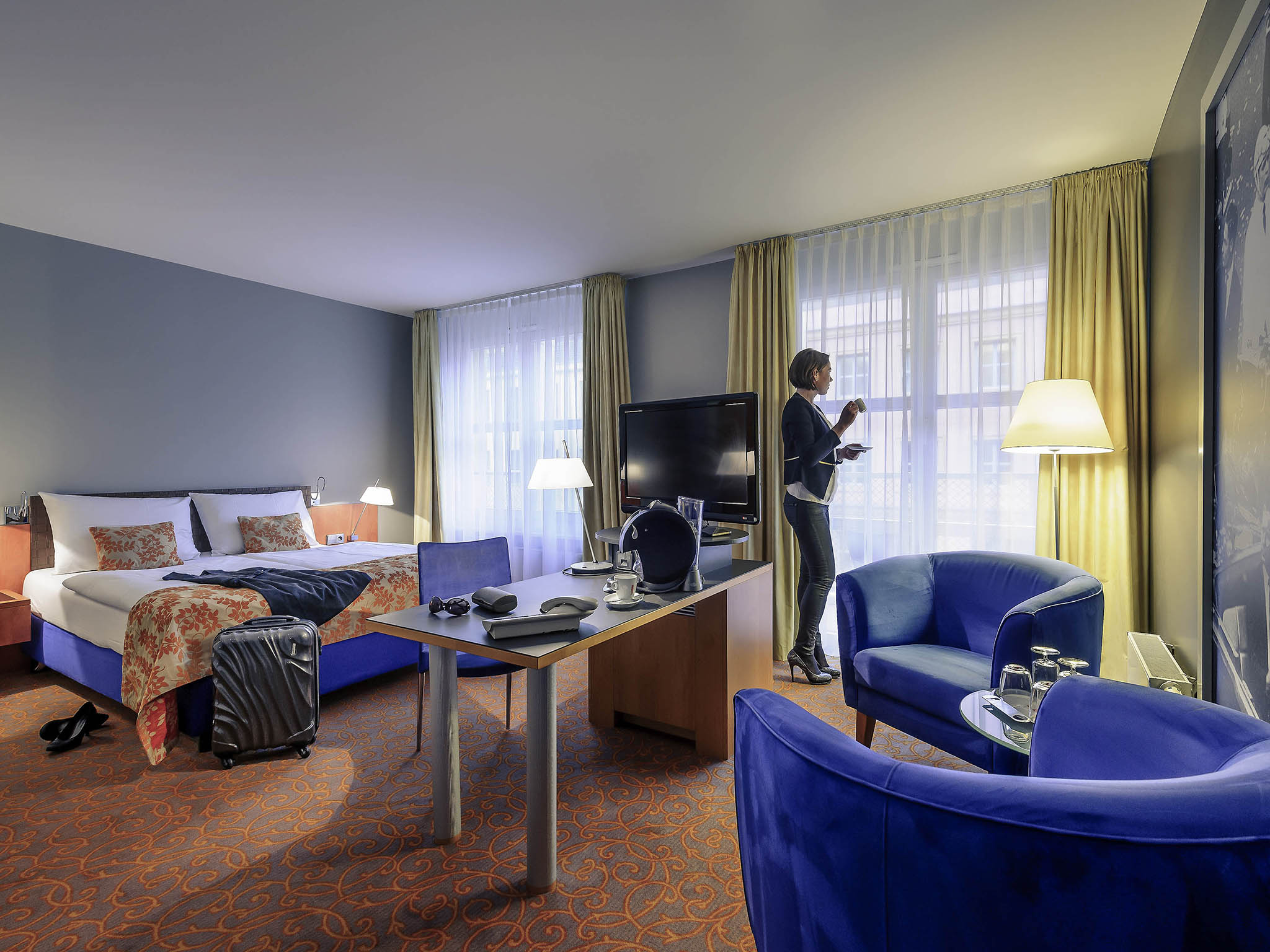 Design Len Berlin mercure hotel residenz berlin checkpoint wifi