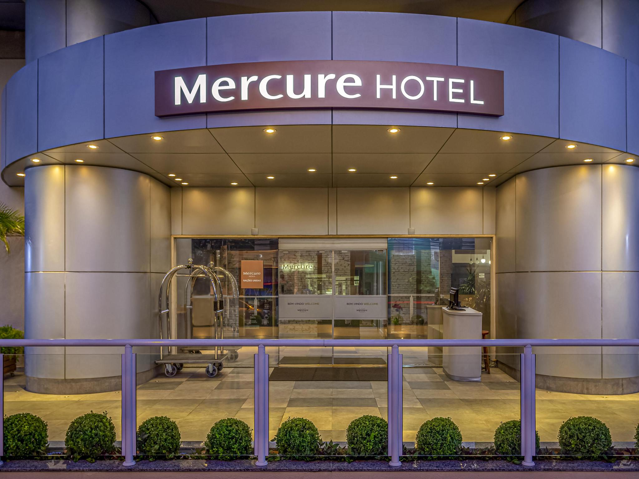 Hotel – Mercure São Paulo Nações Unidas Hotel