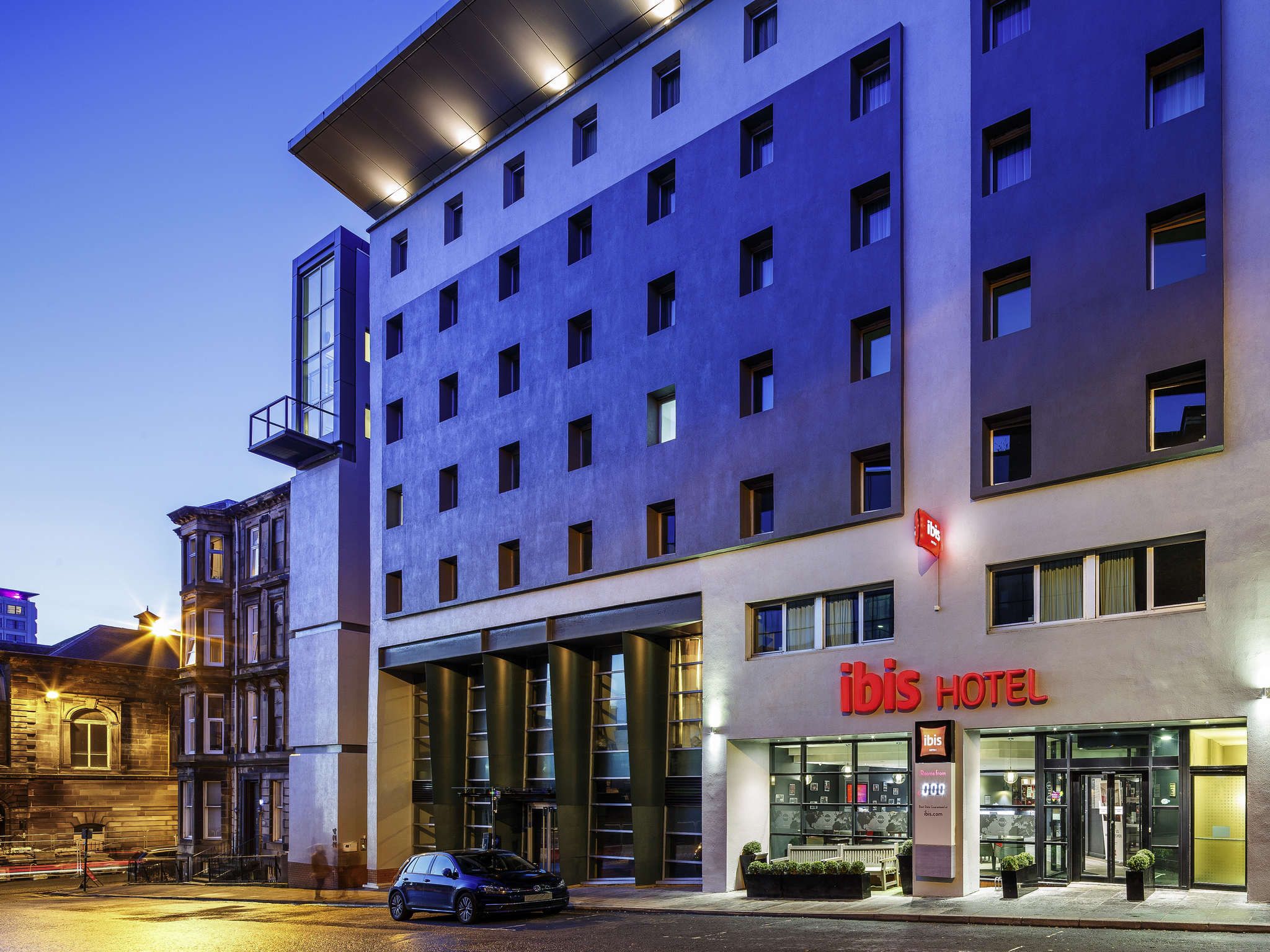 Ibis Glasgow Well Equipped Modern Hotel In Glasgow