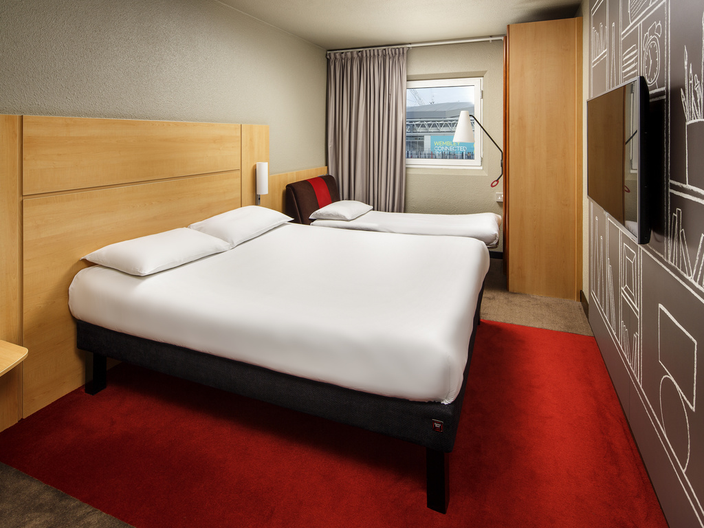 Hotel em londres ibis londres wembley for Hotel londres habitacion familiar