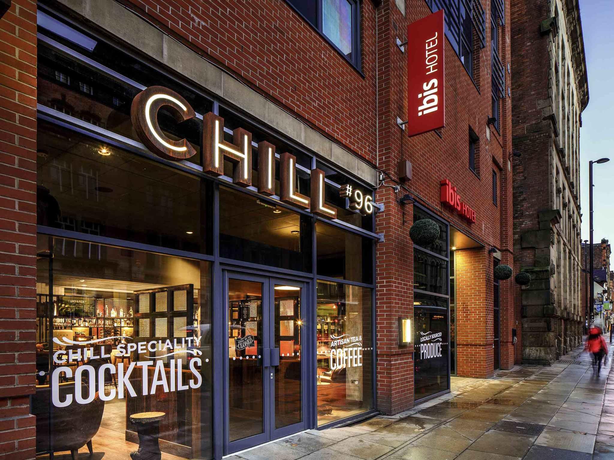 Otel – ibis Manchester Centre 96 Portland Street (new ibis rooms)